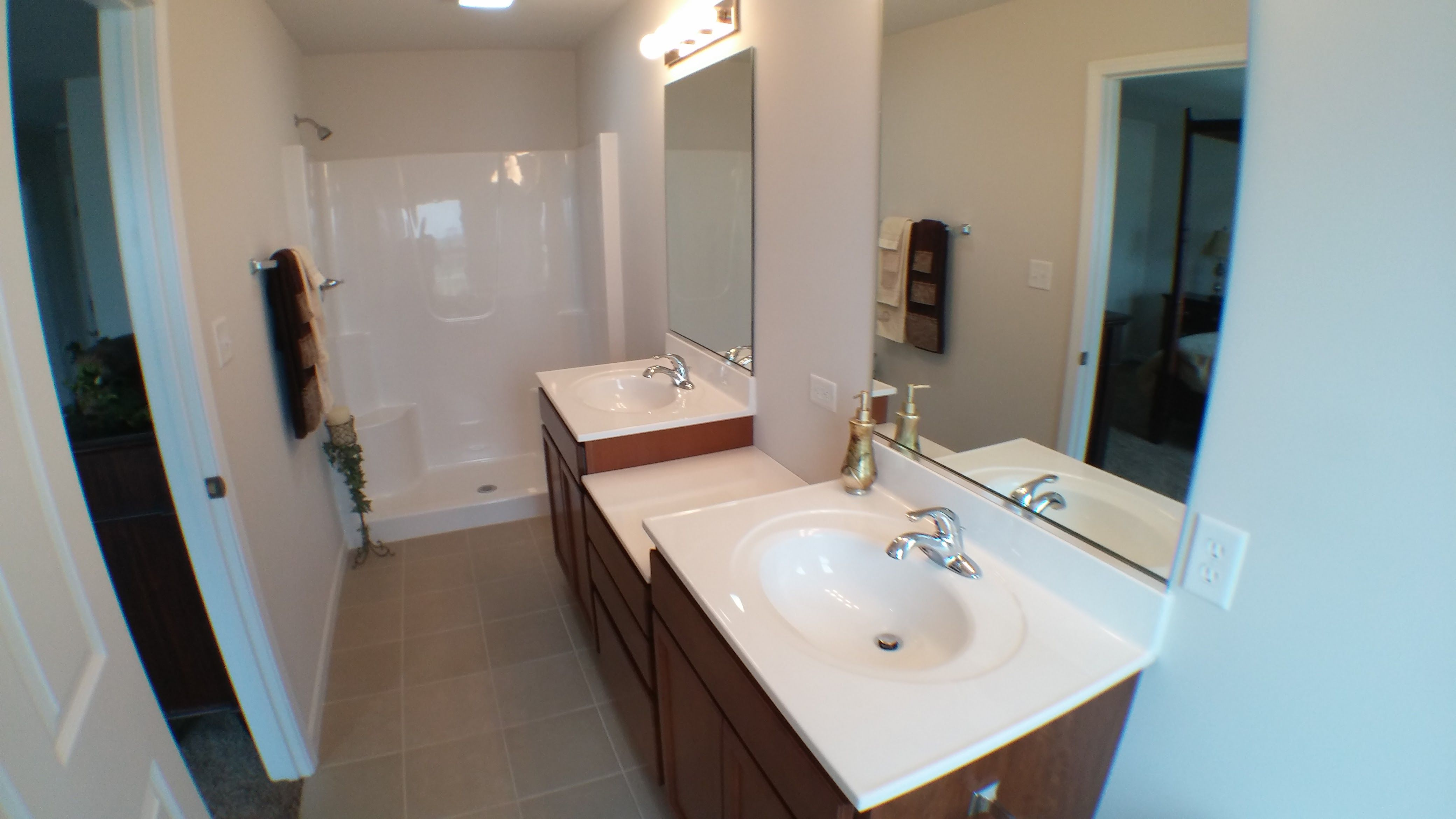 Bathroom featured in the Irvington By Accent Homes Inc. in Gary, IN