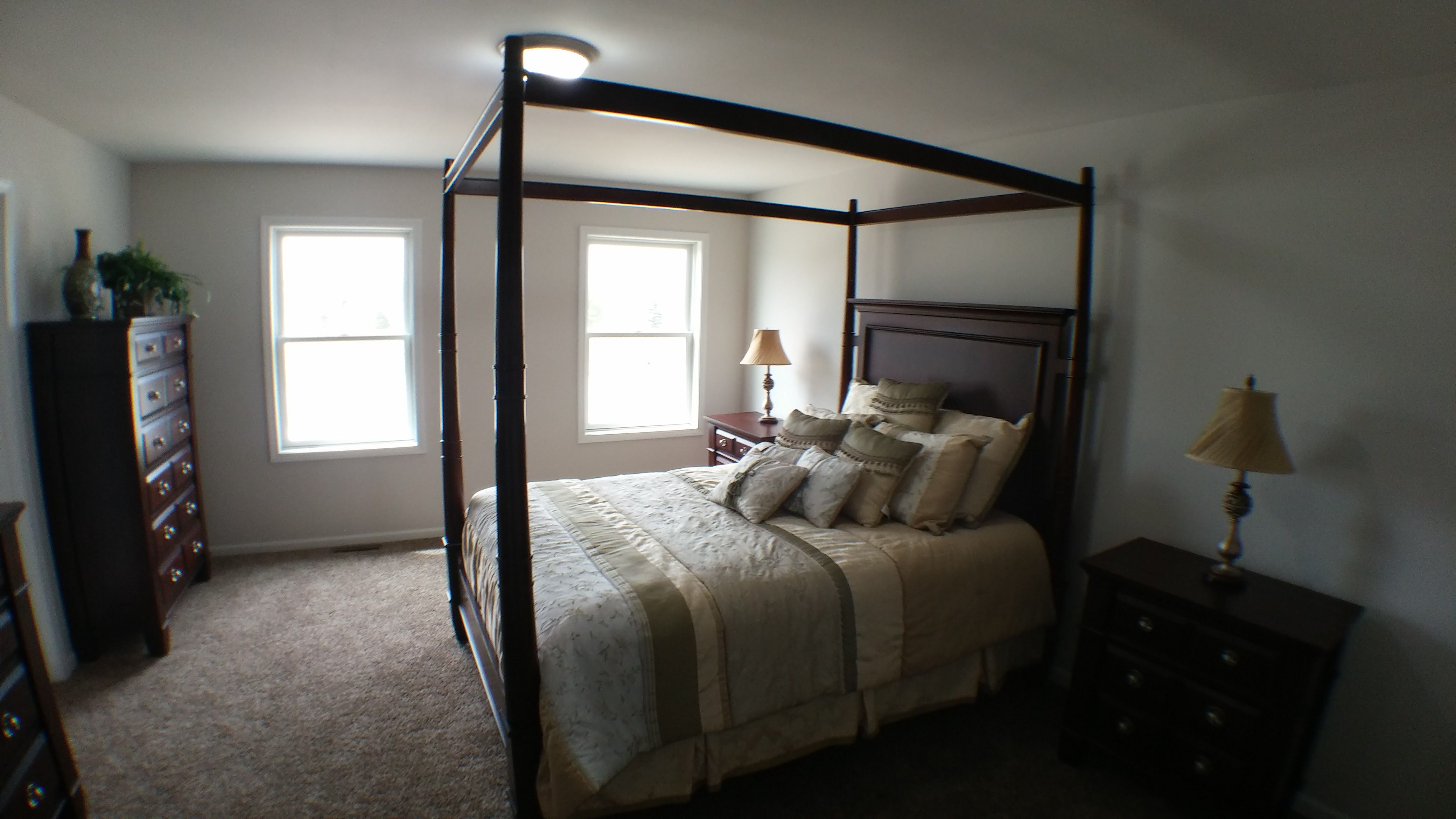 Bedroom featured in the Irvington By Accent Homes Inc. in Gary, IN