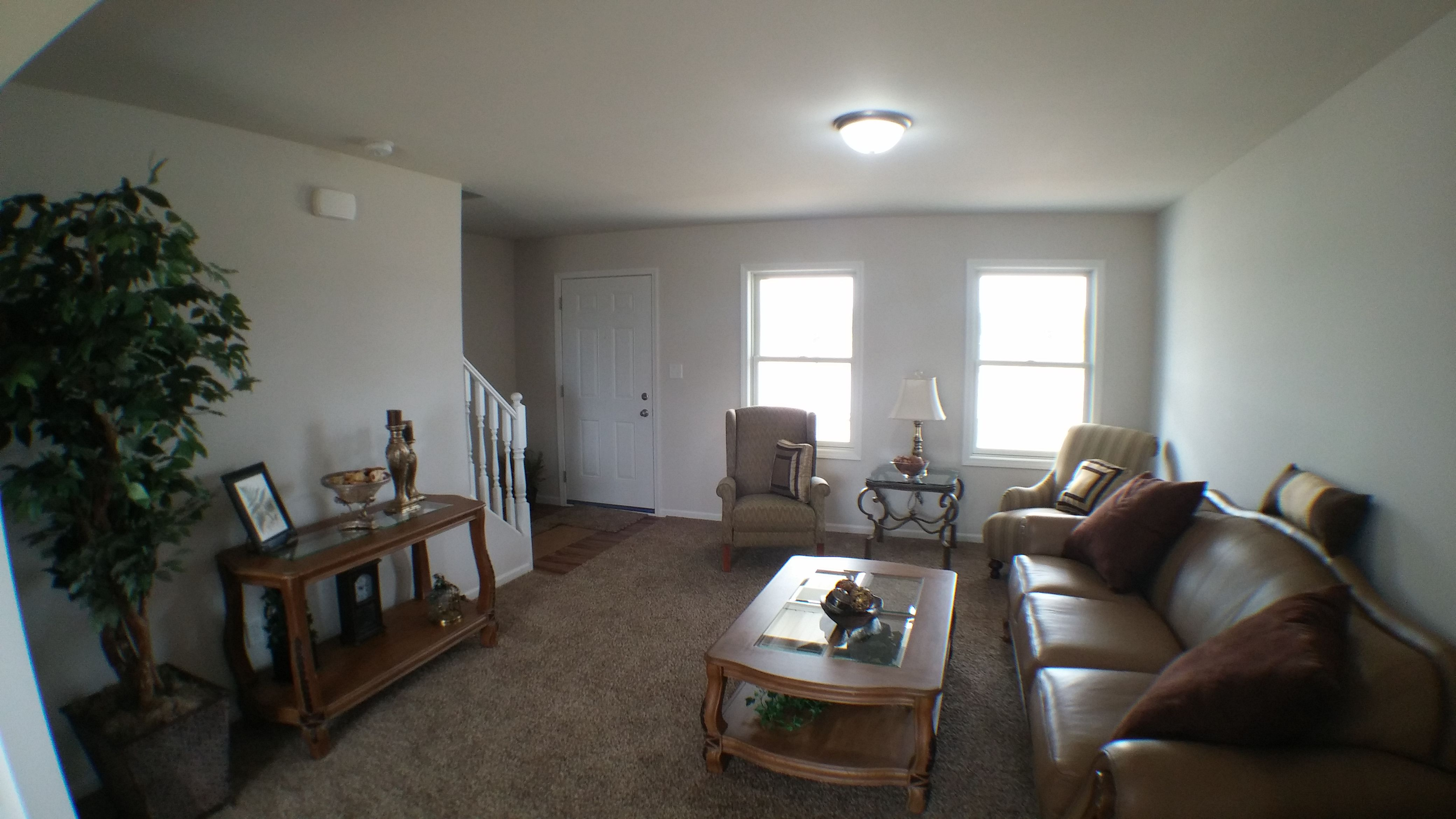 Living Area featured in the Irvington By Accent Homes Inc. in Gary, IN