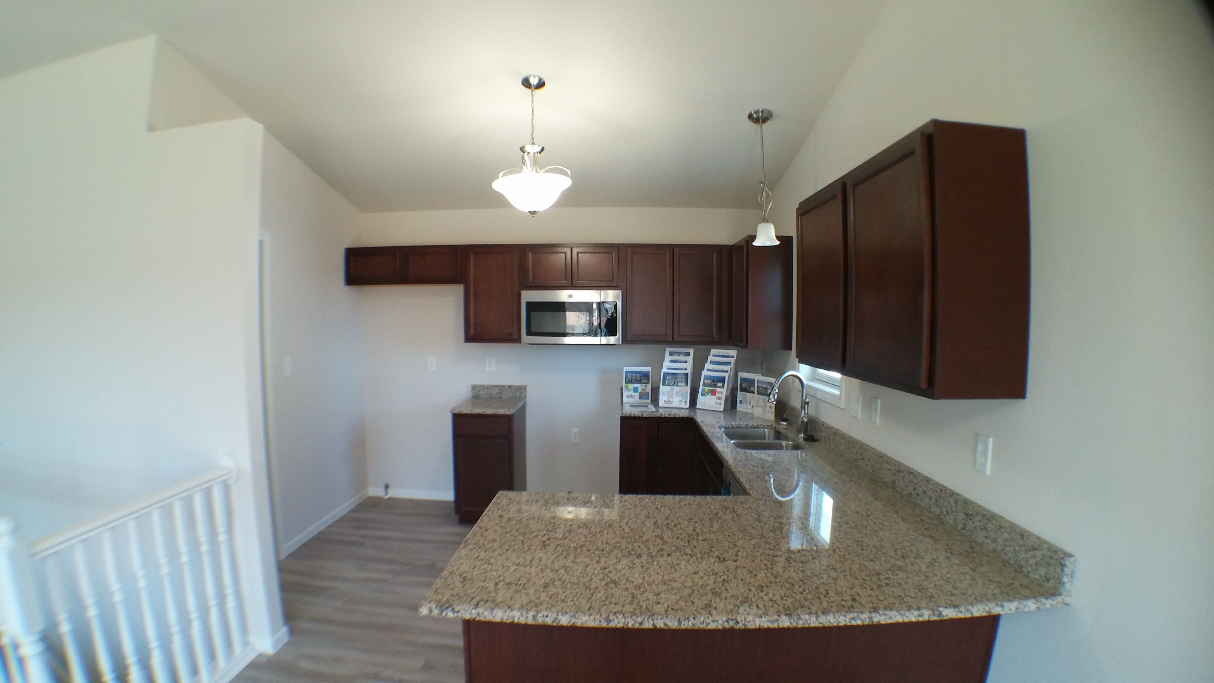 Kitchen featured in the Lexington II By Accent Homes Inc. in Gary, IN