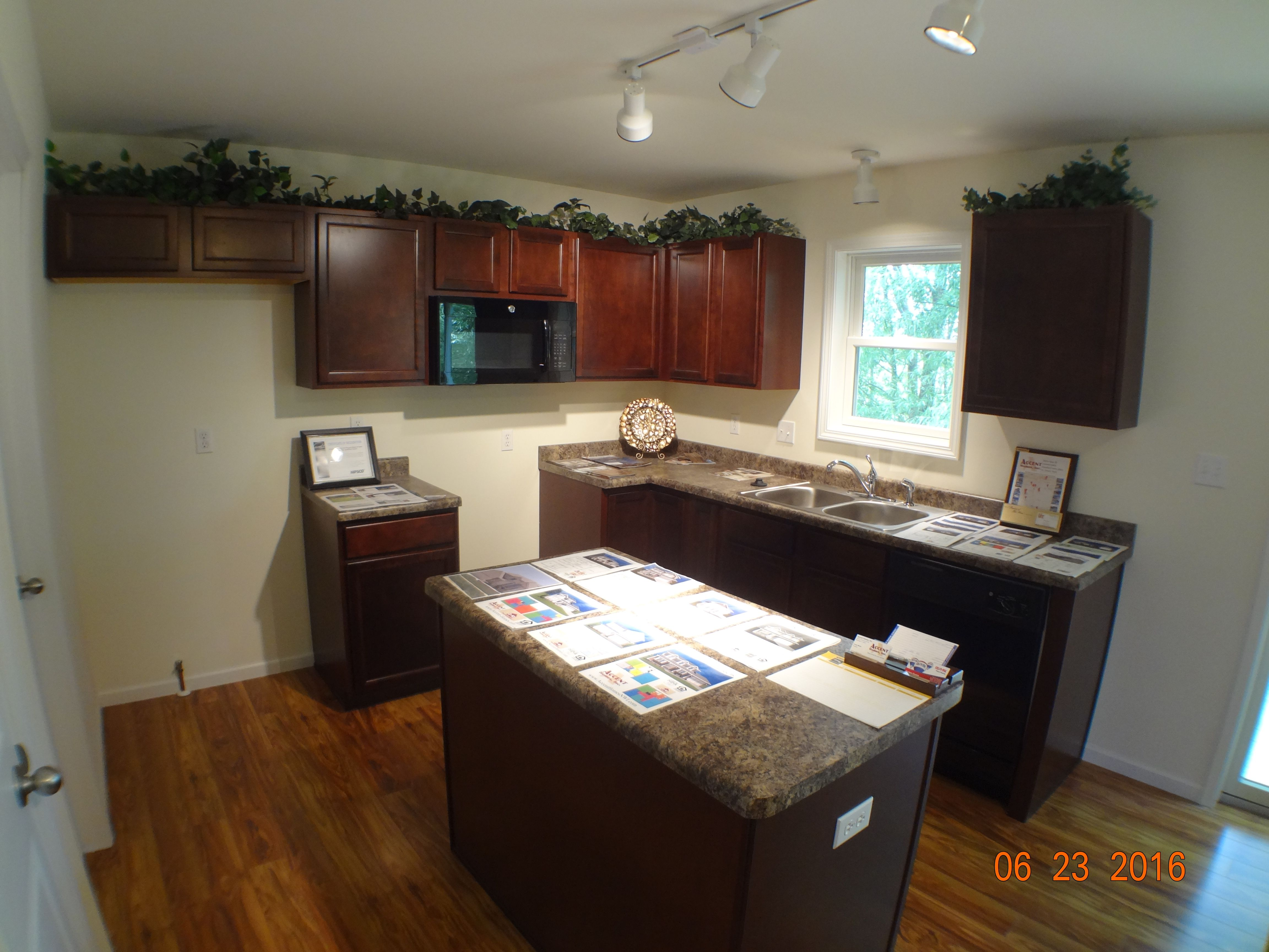 Kitchen featured in the Linden By Accent Homes Inc. in Gary, IN