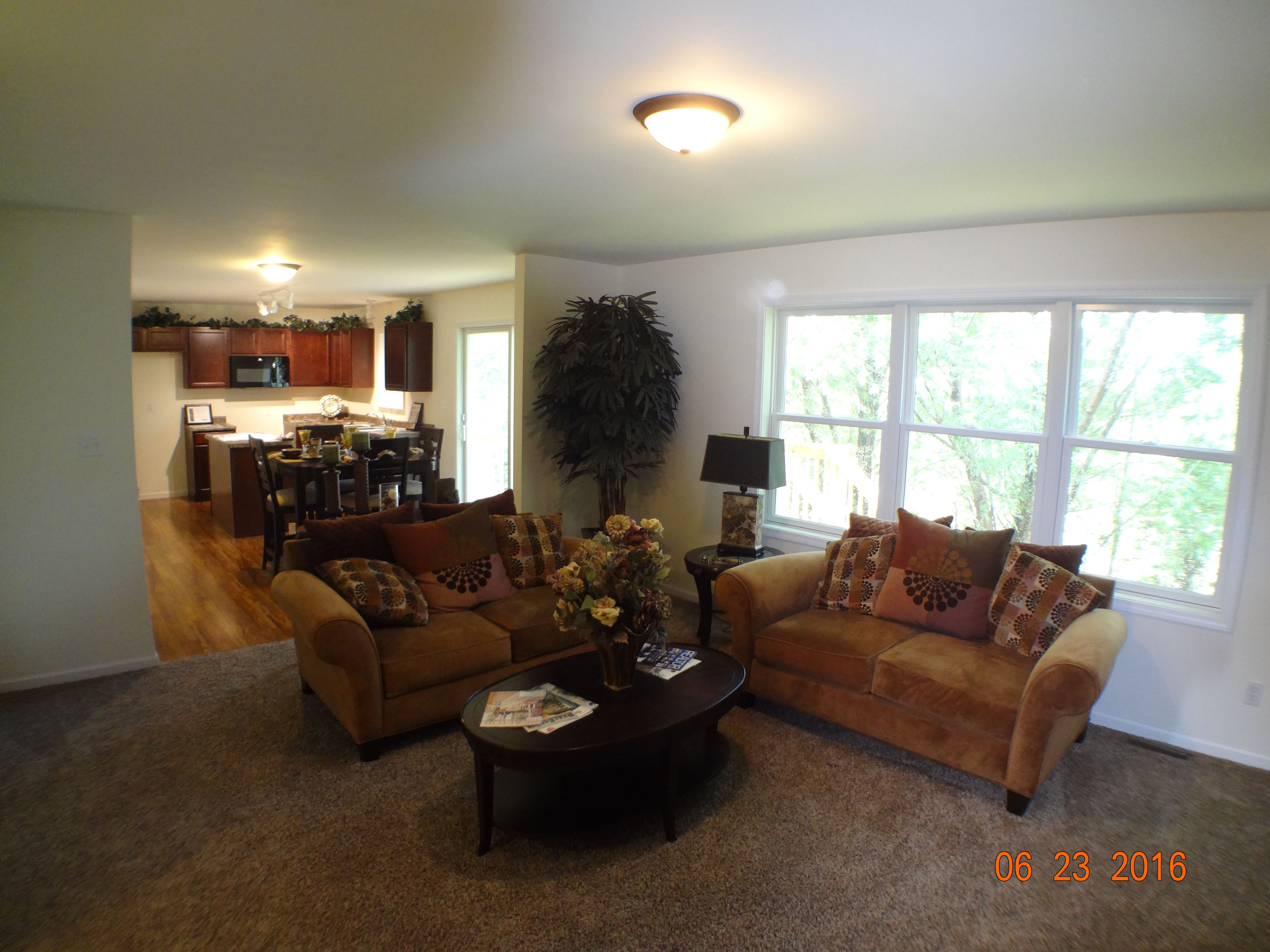 Living Area featured in the Linden By Accent Homes Inc. in Gary, IN