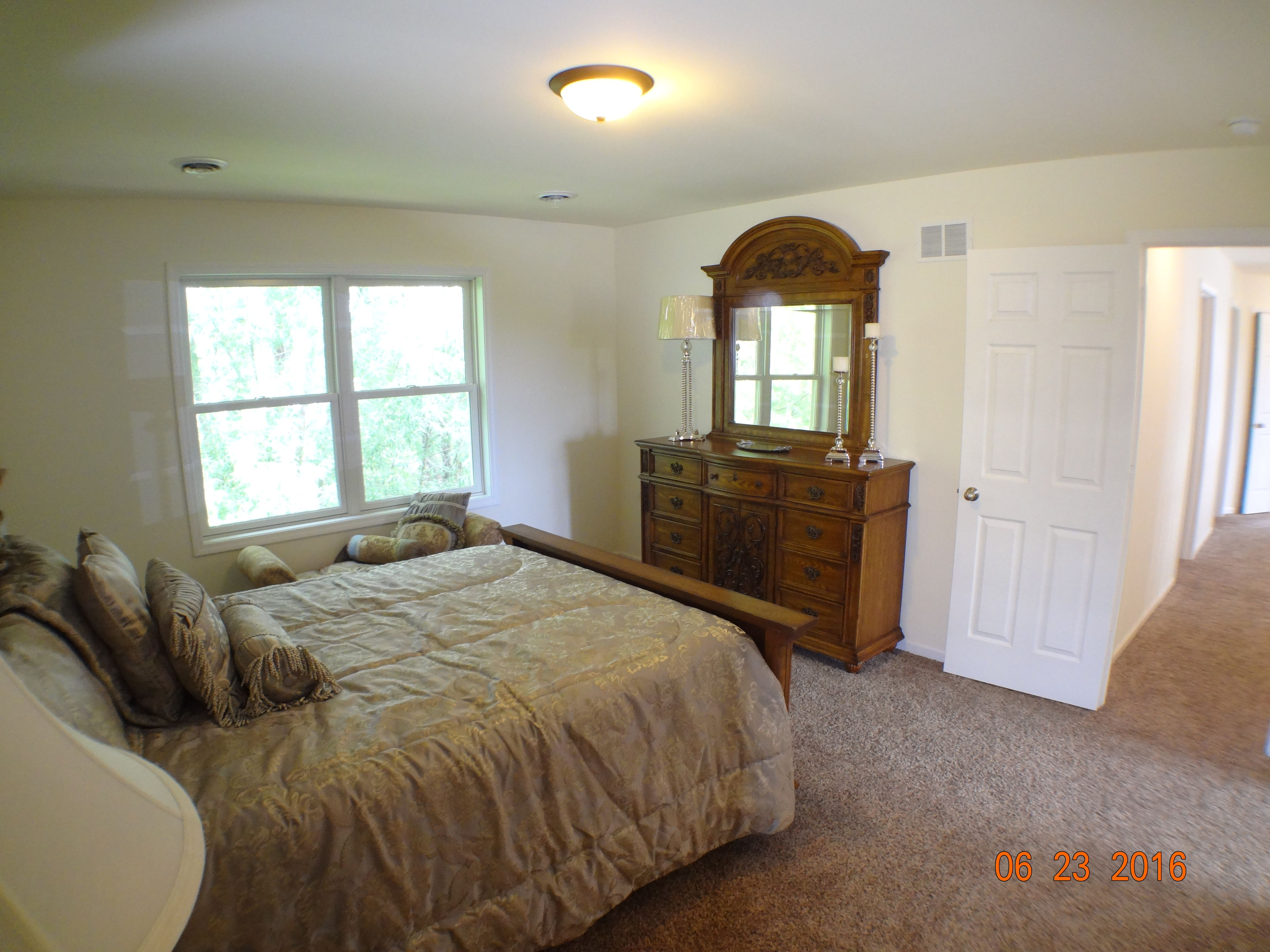 Bedroom featured in the Linden By Accent Homes Inc. in Gary, IN