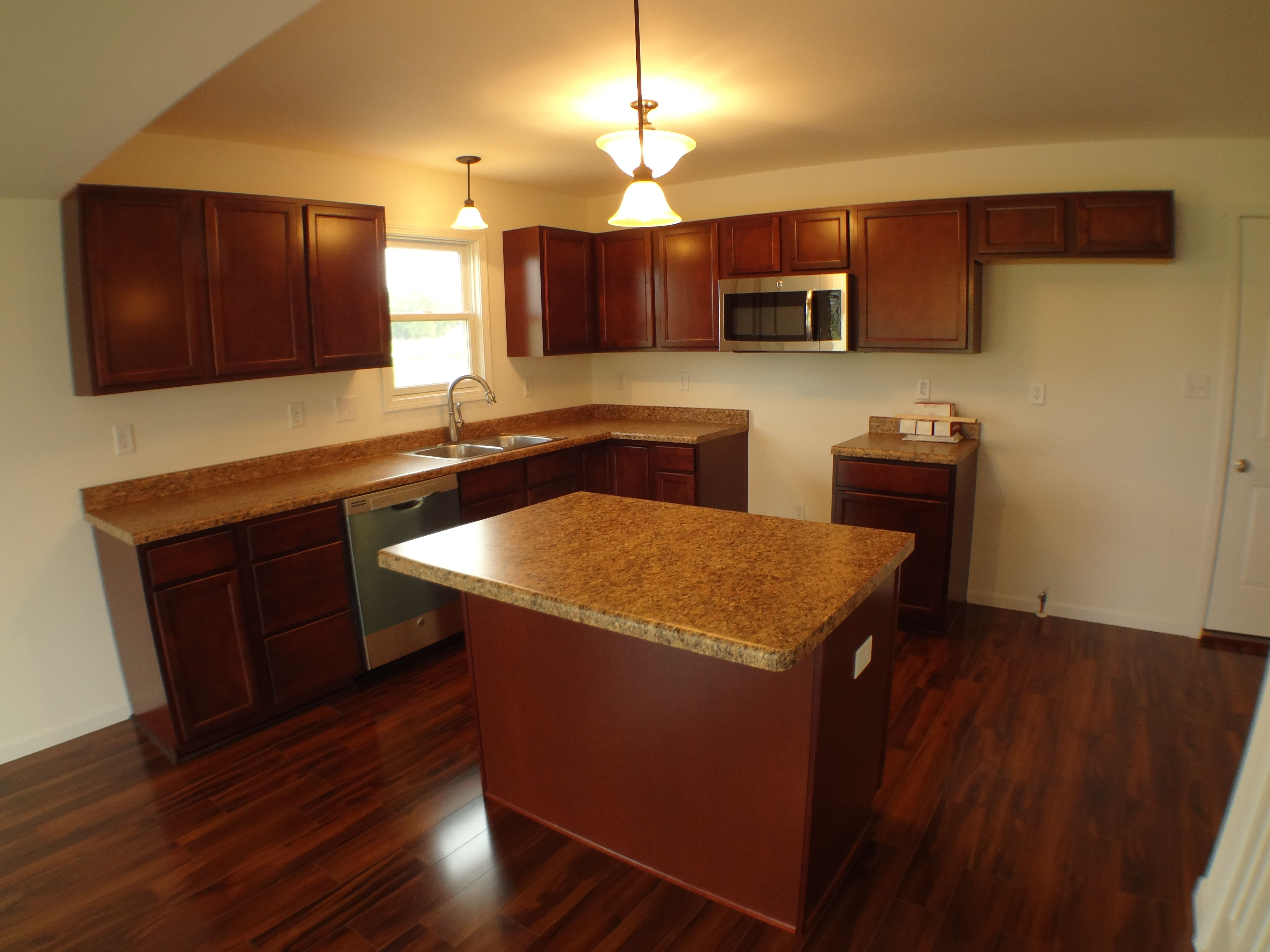 Kitchen featured in the Auburn II By Accent Homes Inc. in Gary, IN