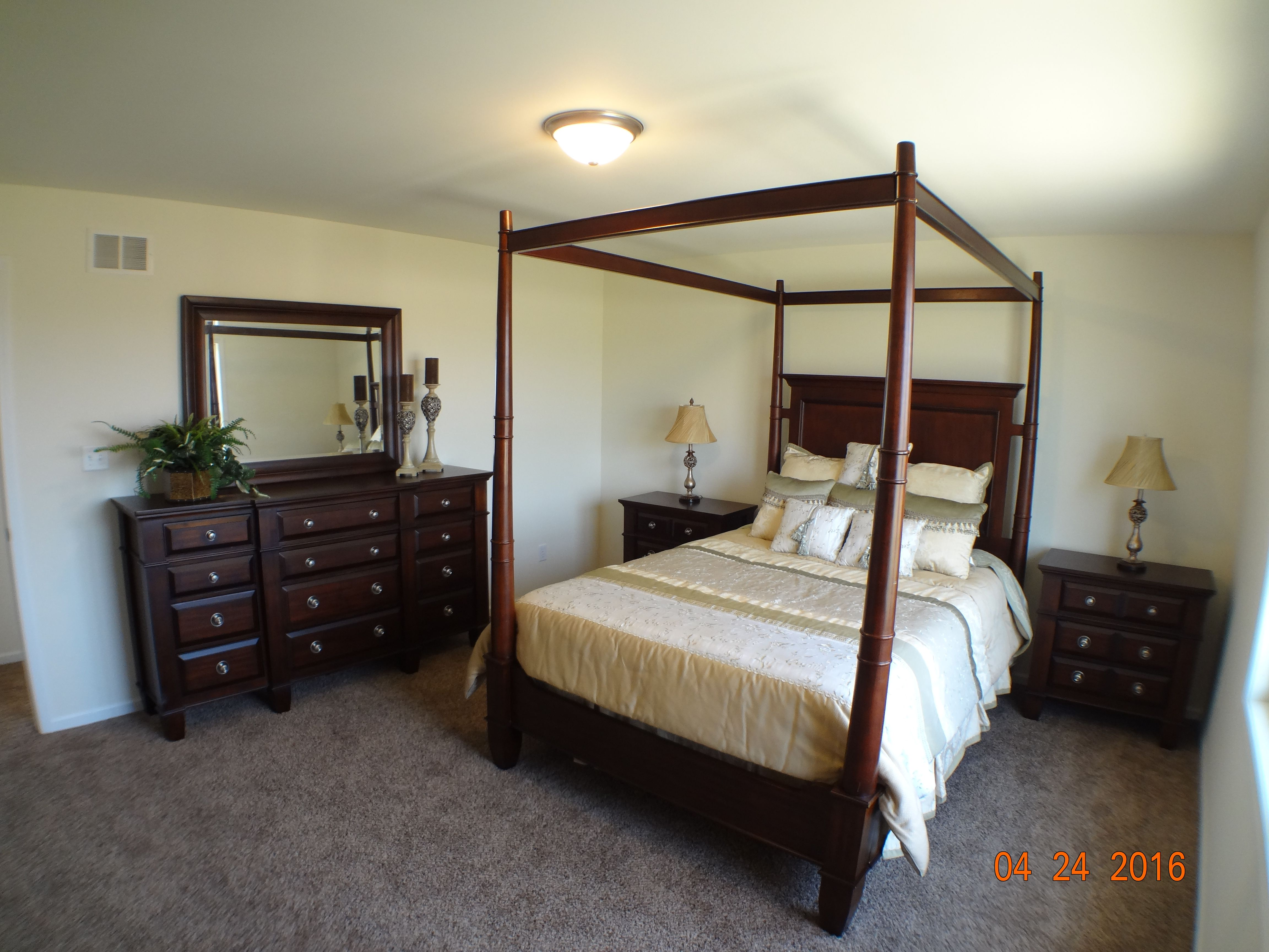 Bedroom featured in the Auburn II By Accent Homes Inc. in Gary, IN