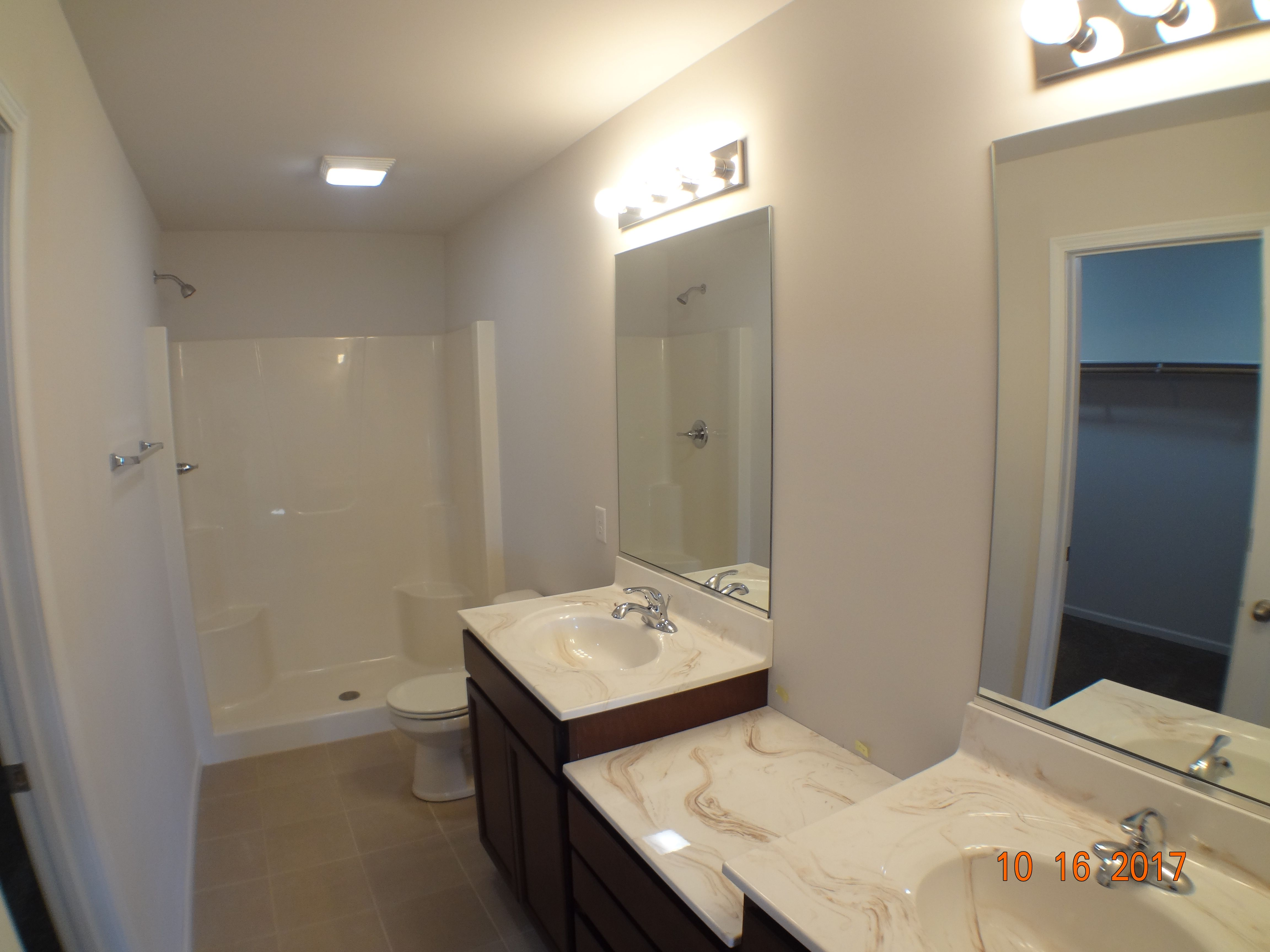 Bathroom featured in the Sophia B By Accent Homes Inc. in Gary, IN