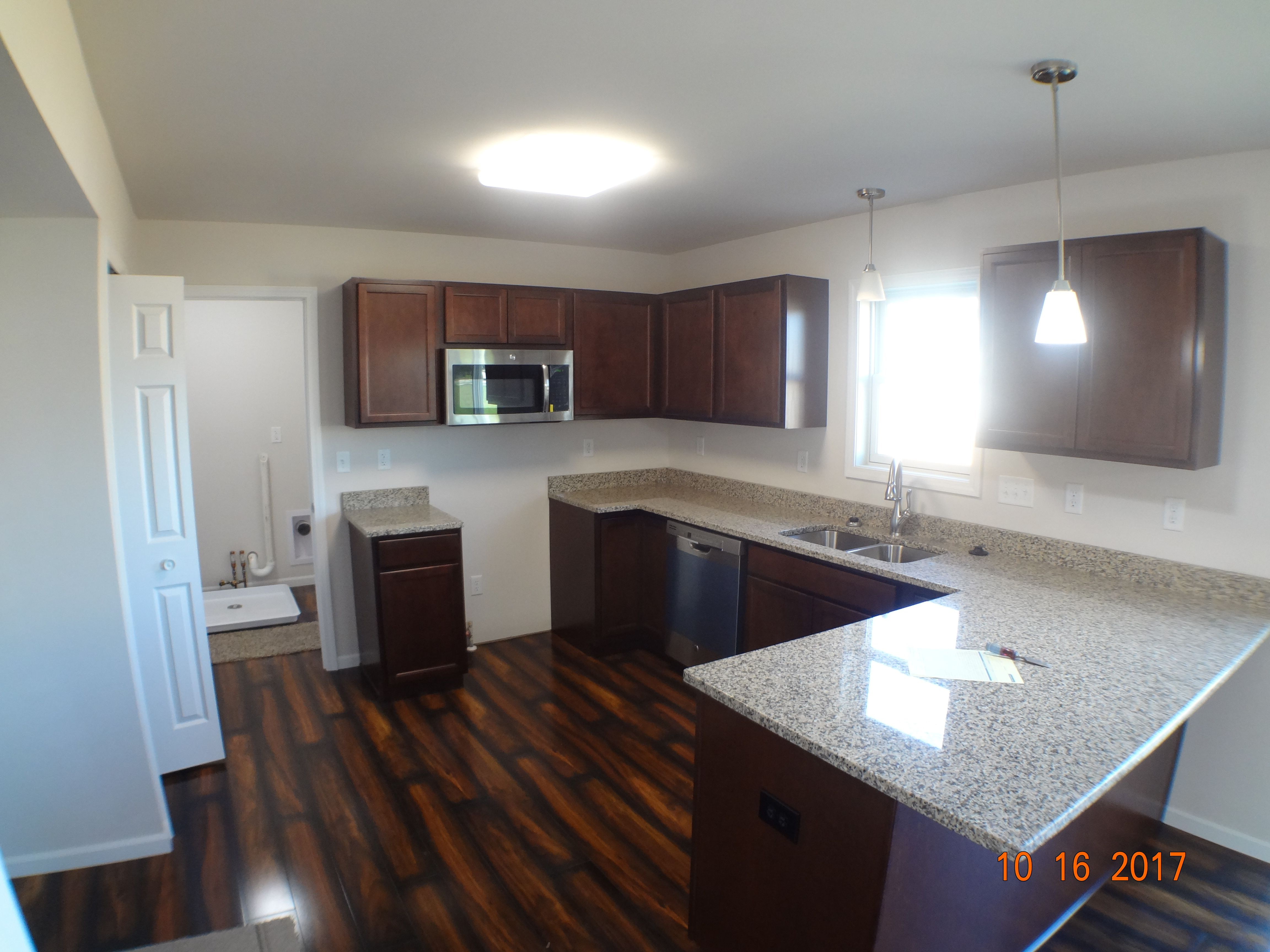 Kitchen featured in the Sophia B By Accent Homes Inc. in Gary, IN
