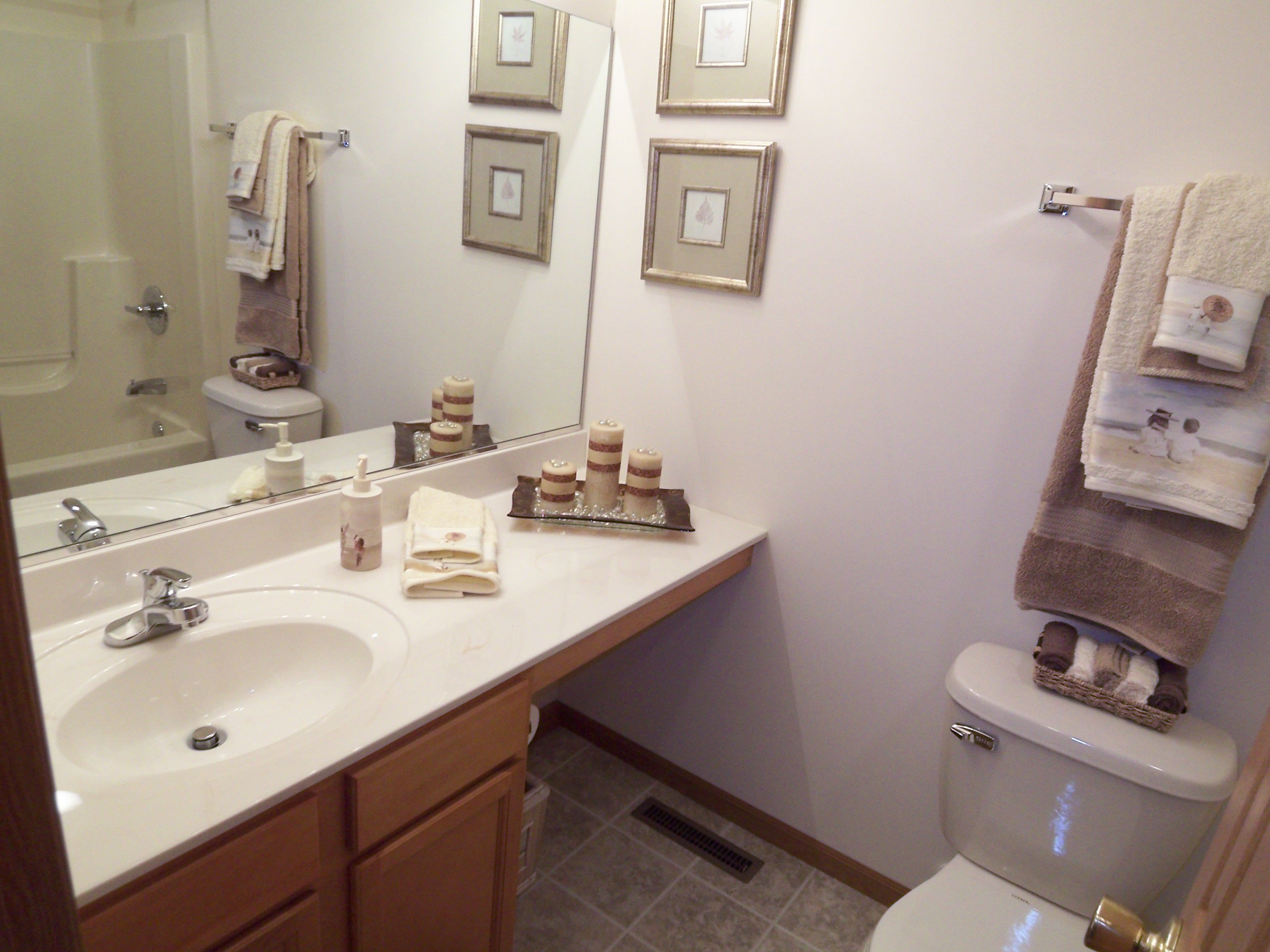 Bathroom featured in the Parkwood By Accent Homes Inc. in Gary, IN