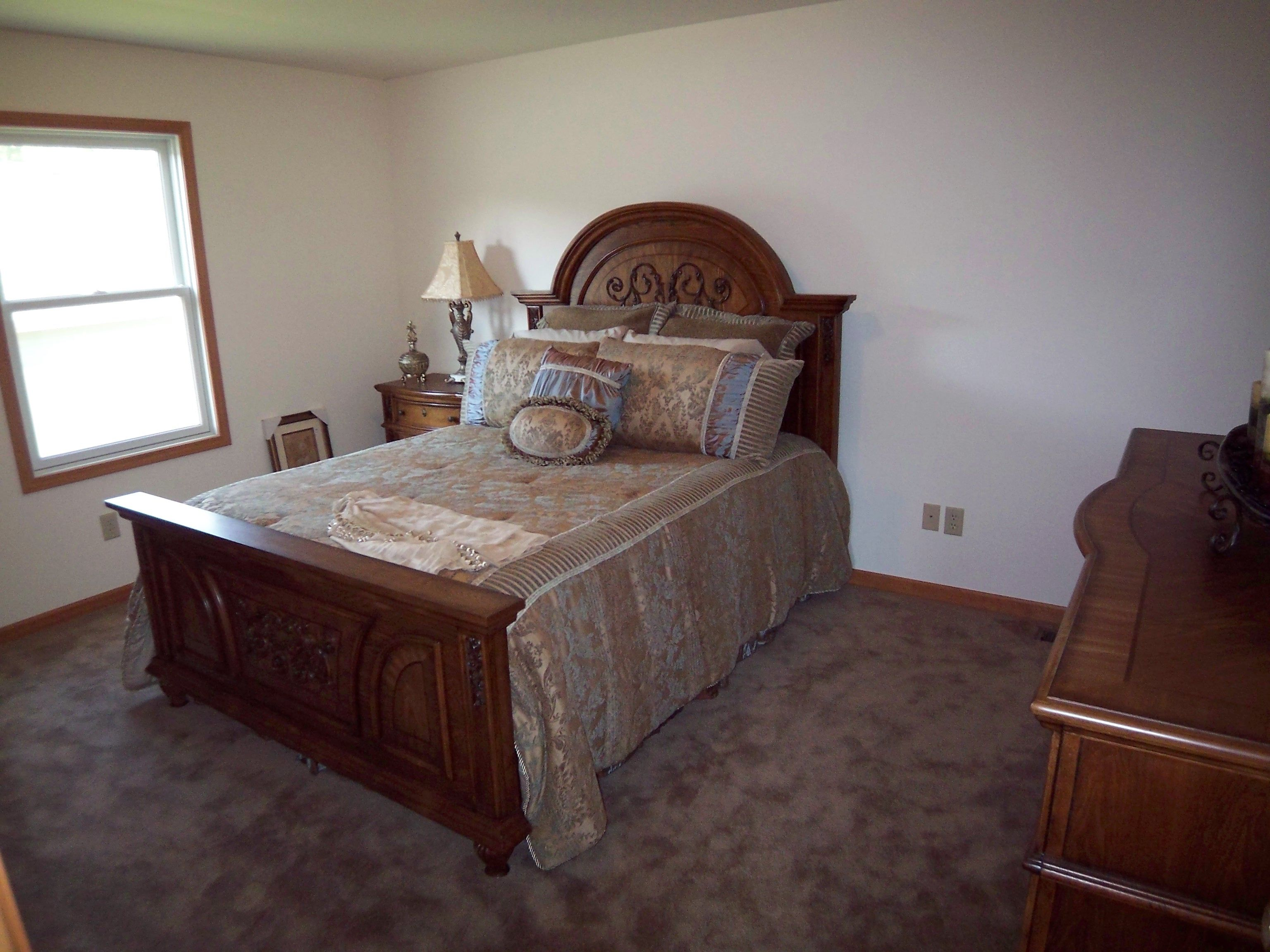 Bedroom featured in the Parkwood By Accent Homes Inc. in Gary, IN