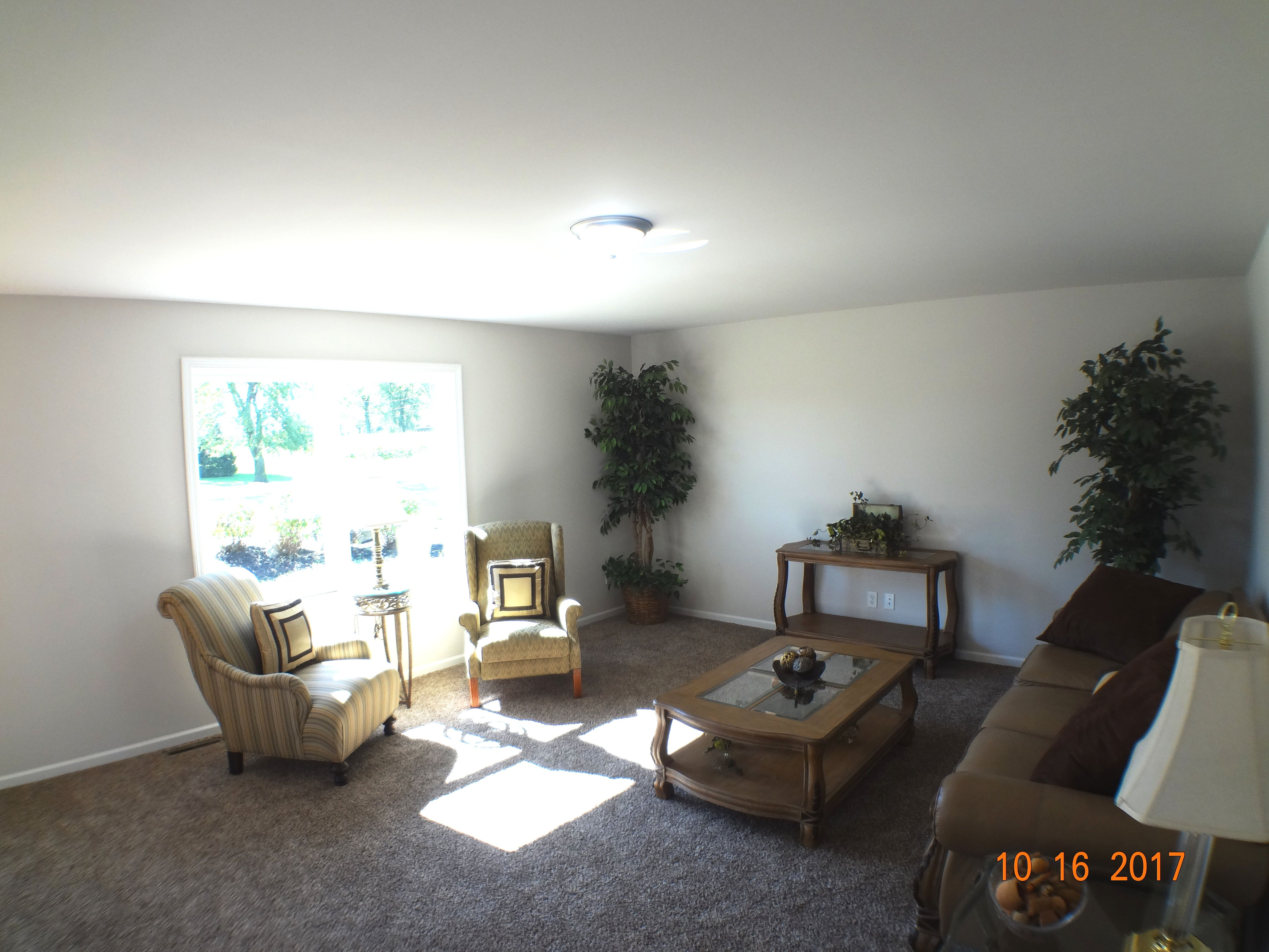 Living Area featured in the Smithport By Accent Homes Inc. in Gary, IN