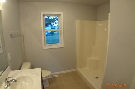 Bathroom featured in The Windsor III S By Accent Homes Inc. in Gary, IN
