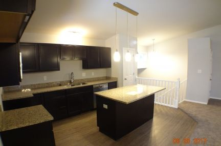 Kitchen featured in The Windsor III S By Accent Homes Inc. in Gary, IN