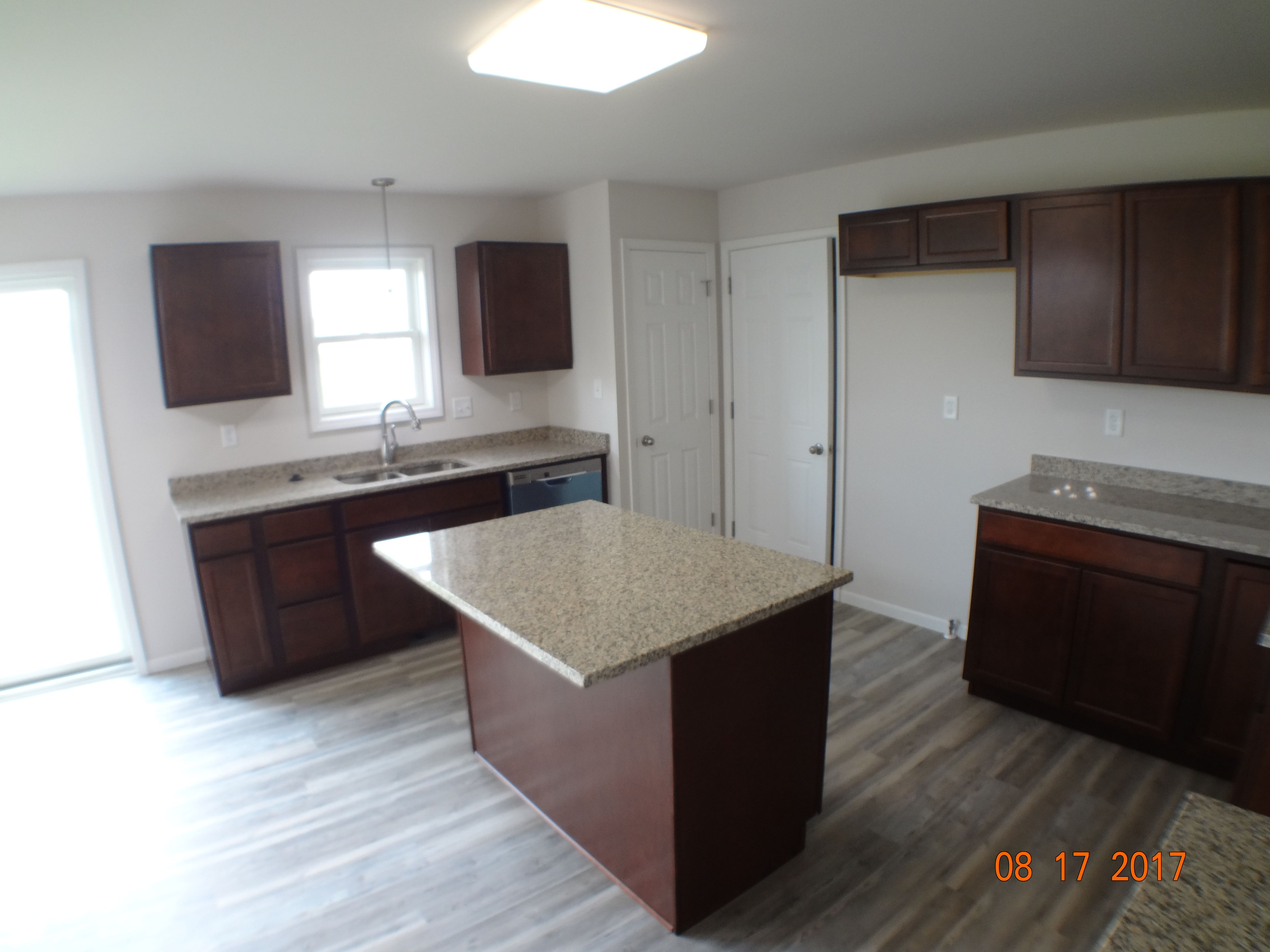 Kitchen featured in the Amhurst III By Accent Homes Inc. in Gary, IN