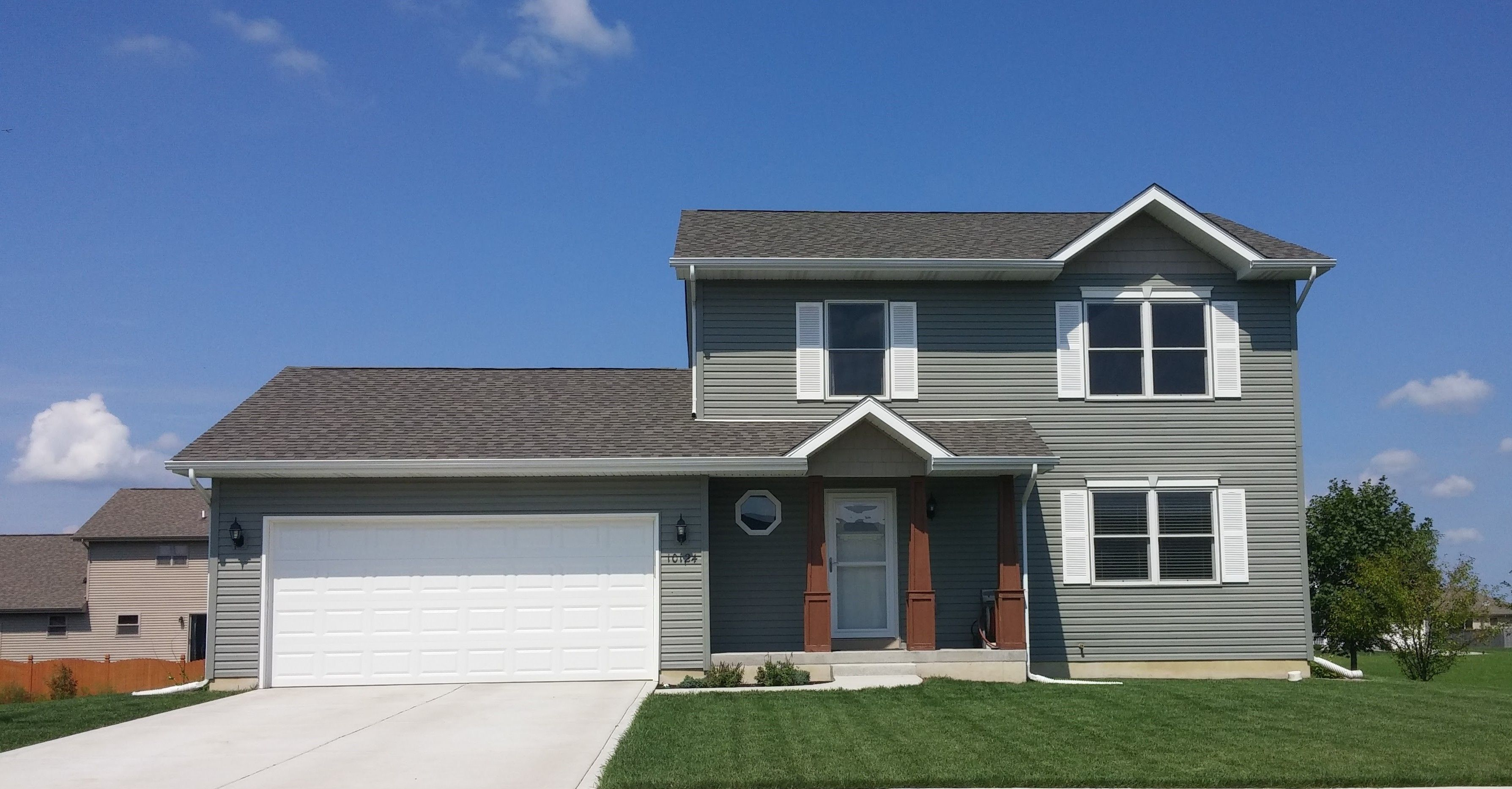 Exterior featured in the Auburn II By Accent Homes Inc. in Gary, IN