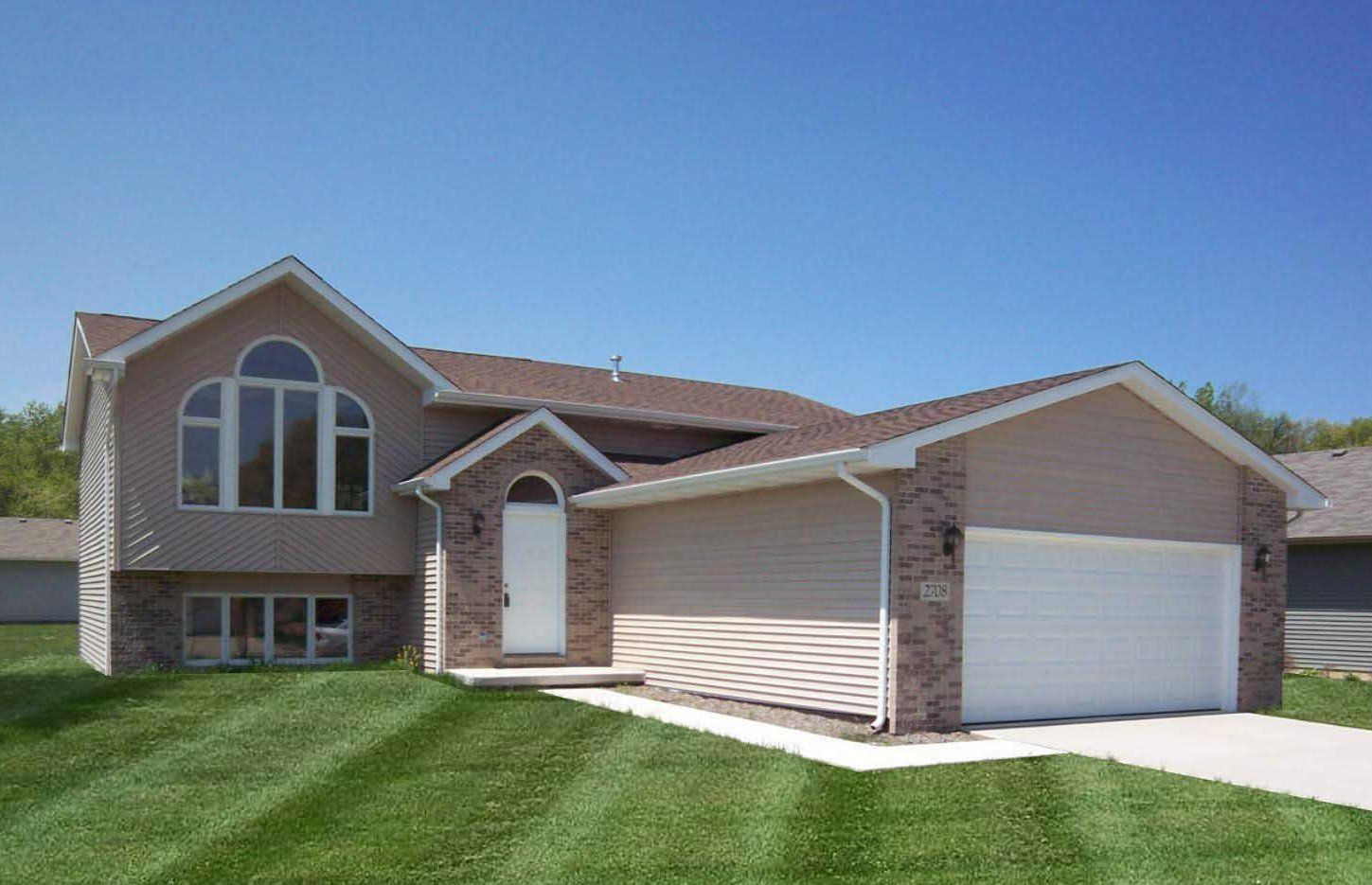 """Exterior featured in the Parkwood """"P"""" By Accent Homes Inc. in Gary, IN"""