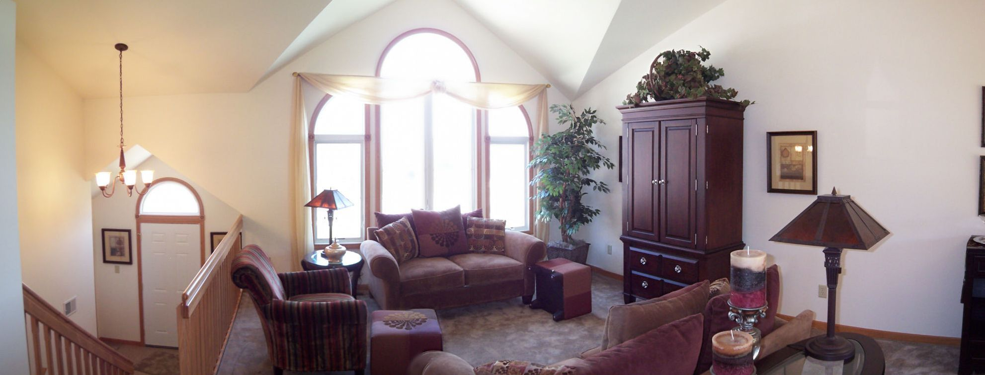 """Living Area featured in the Parkwood """"P"""" By Accent Homes Inc. in Gary, IN"""