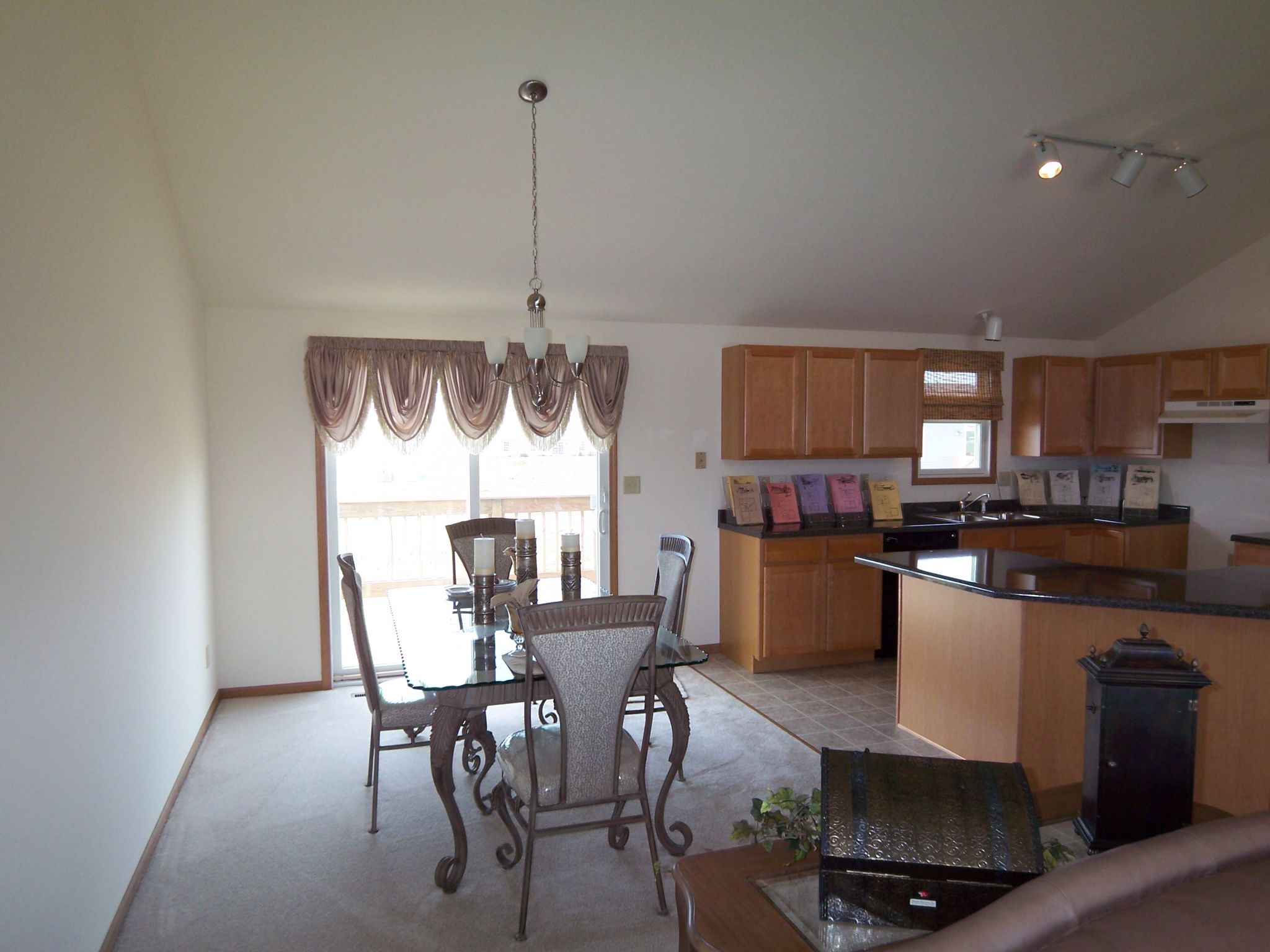 """Kitchen featured in the Parkwood """"P"""" By Accent Homes Inc. in Gary, IN"""