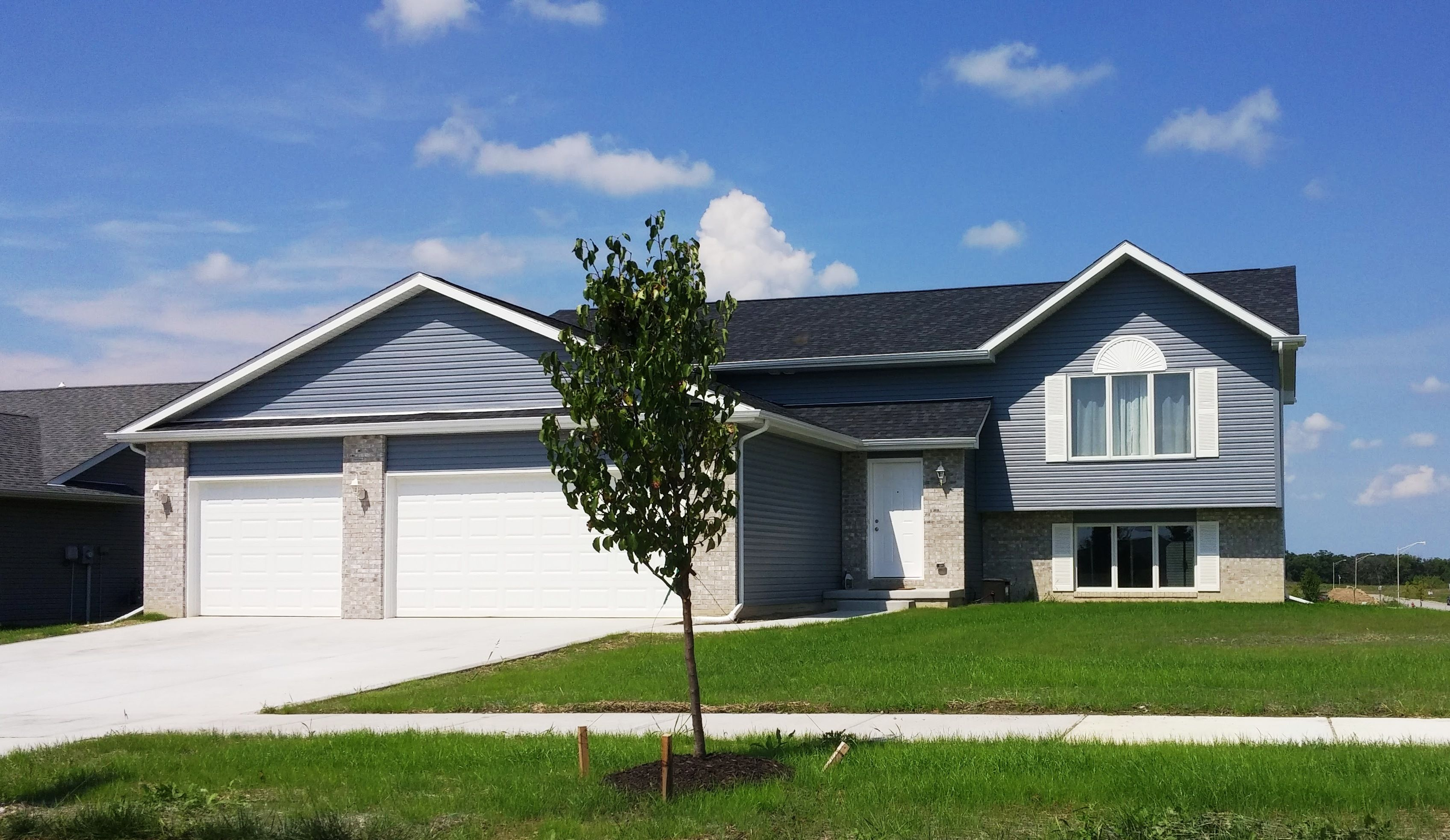 Exterior featured in The Windsor III S By Accent Homes Inc. in Gary, IN