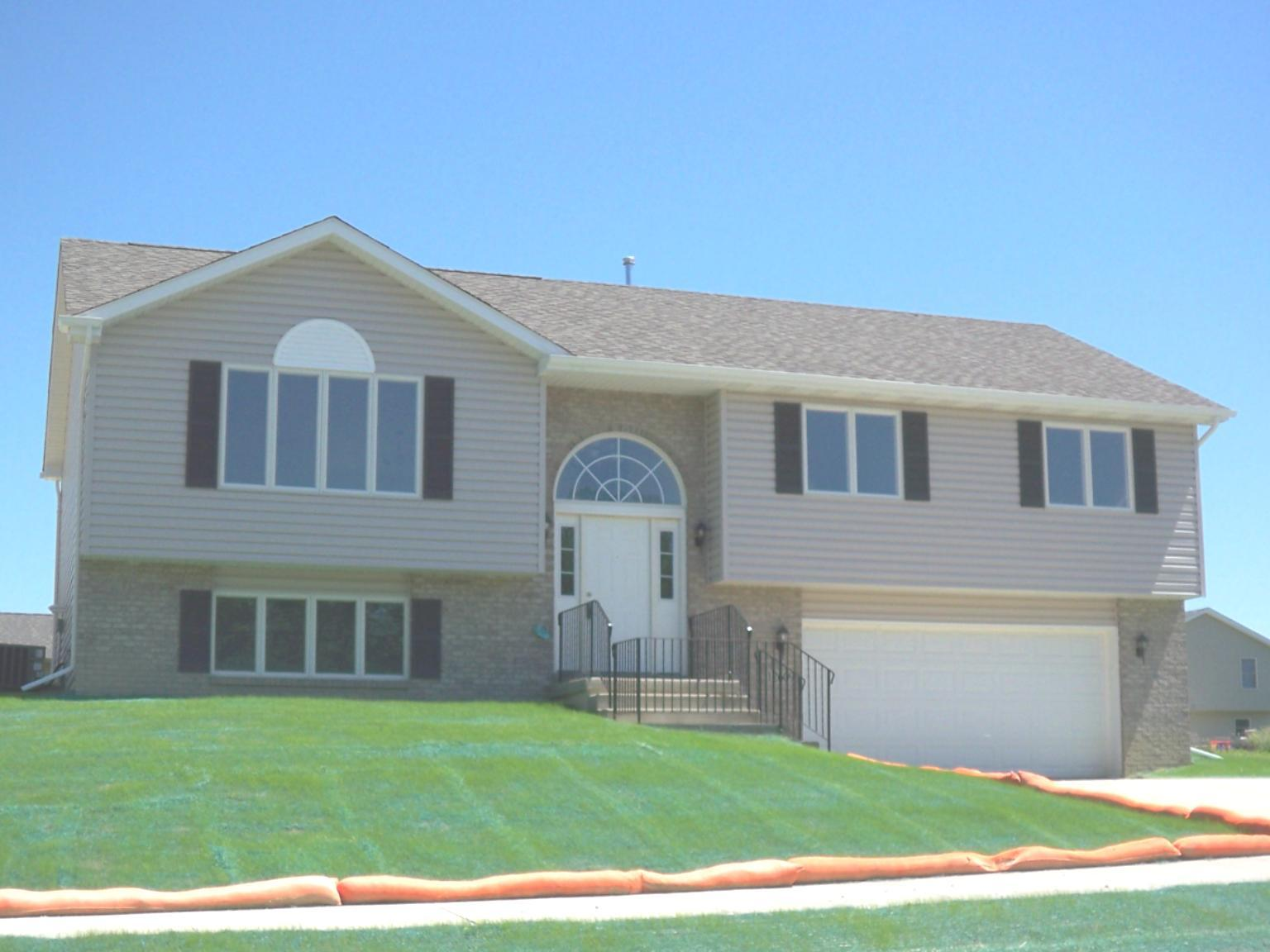 Exterior featured in the Wellington By Accent Homes Inc. in Gary, IN