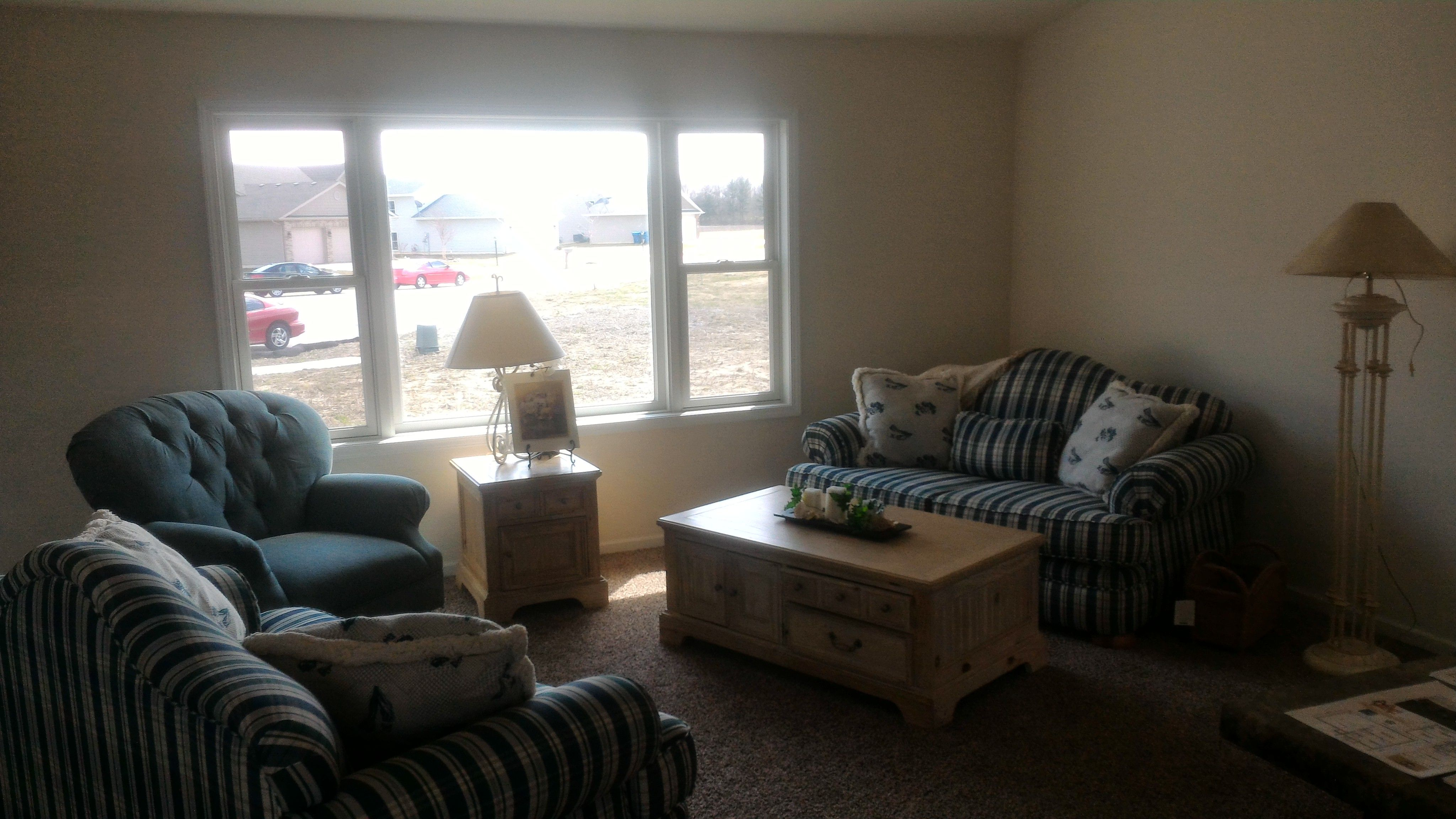 """Living Area featured in the Dakota """"A"""" By Accent Homes Inc. in Gary, IN"""