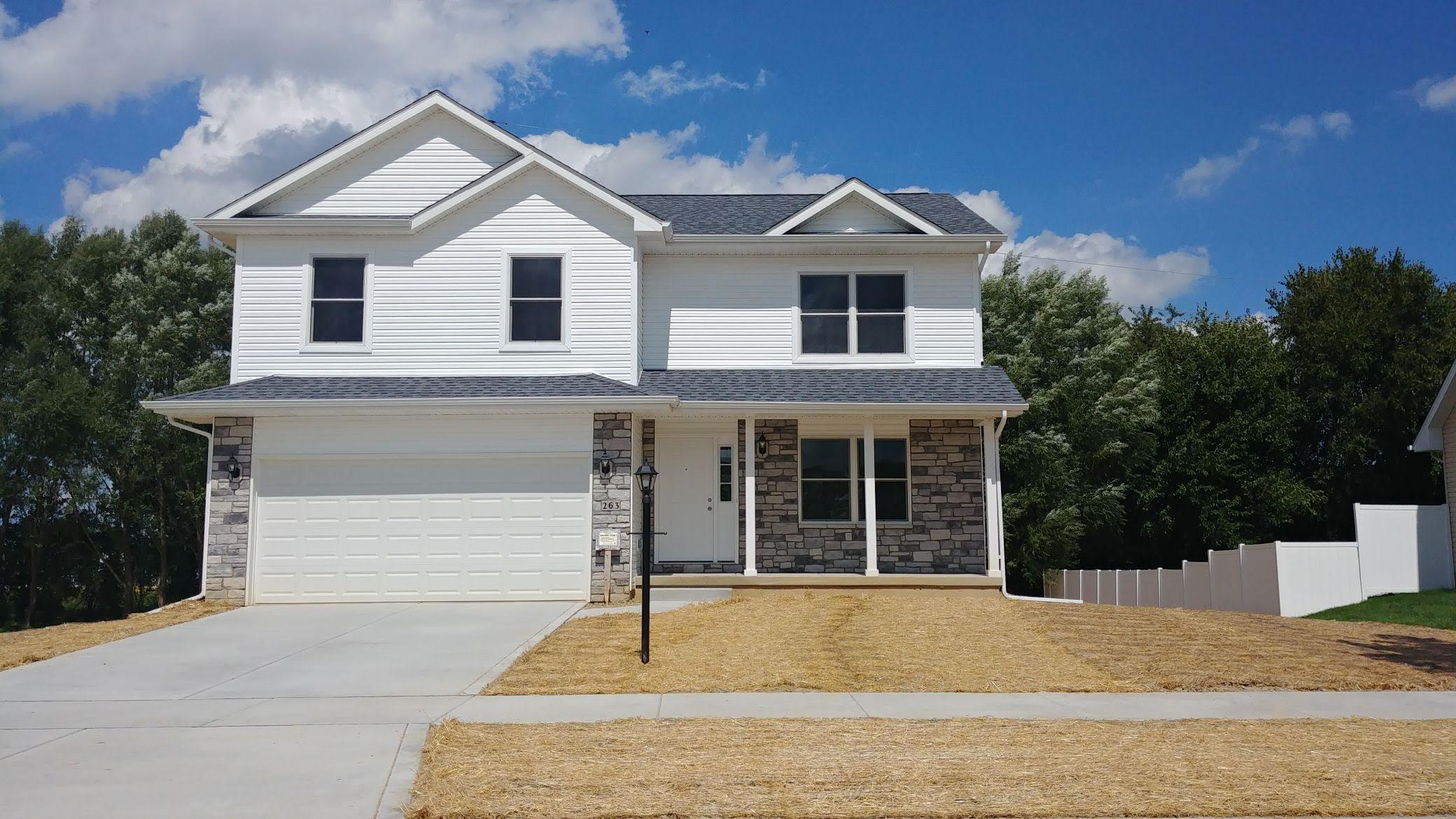 Exterior featured in the Sophia By Accent Homes Inc. in Gary, IN