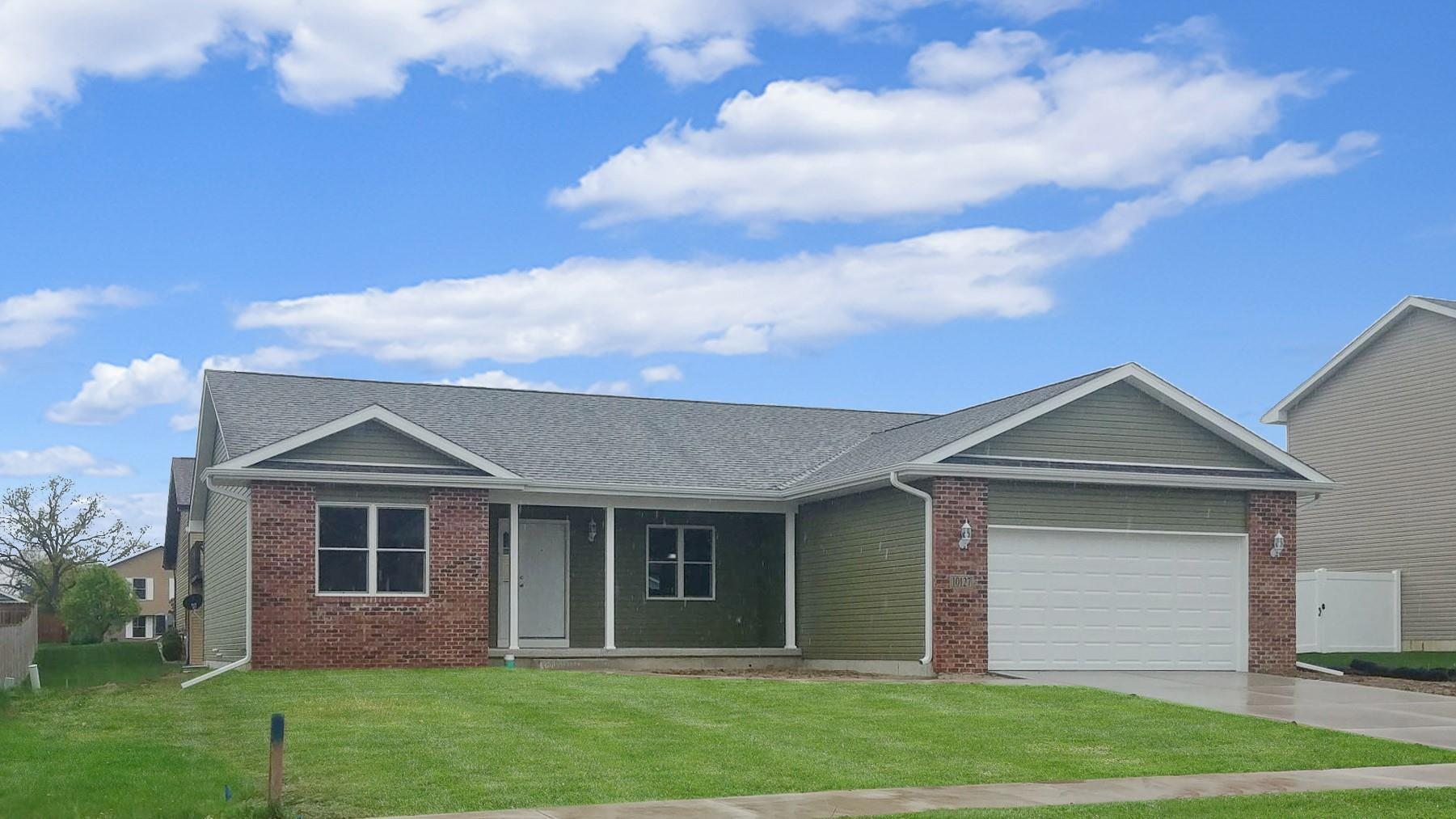 Exterior featured in the Cheyenne II By Accent Homes Inc. in Gary, IN