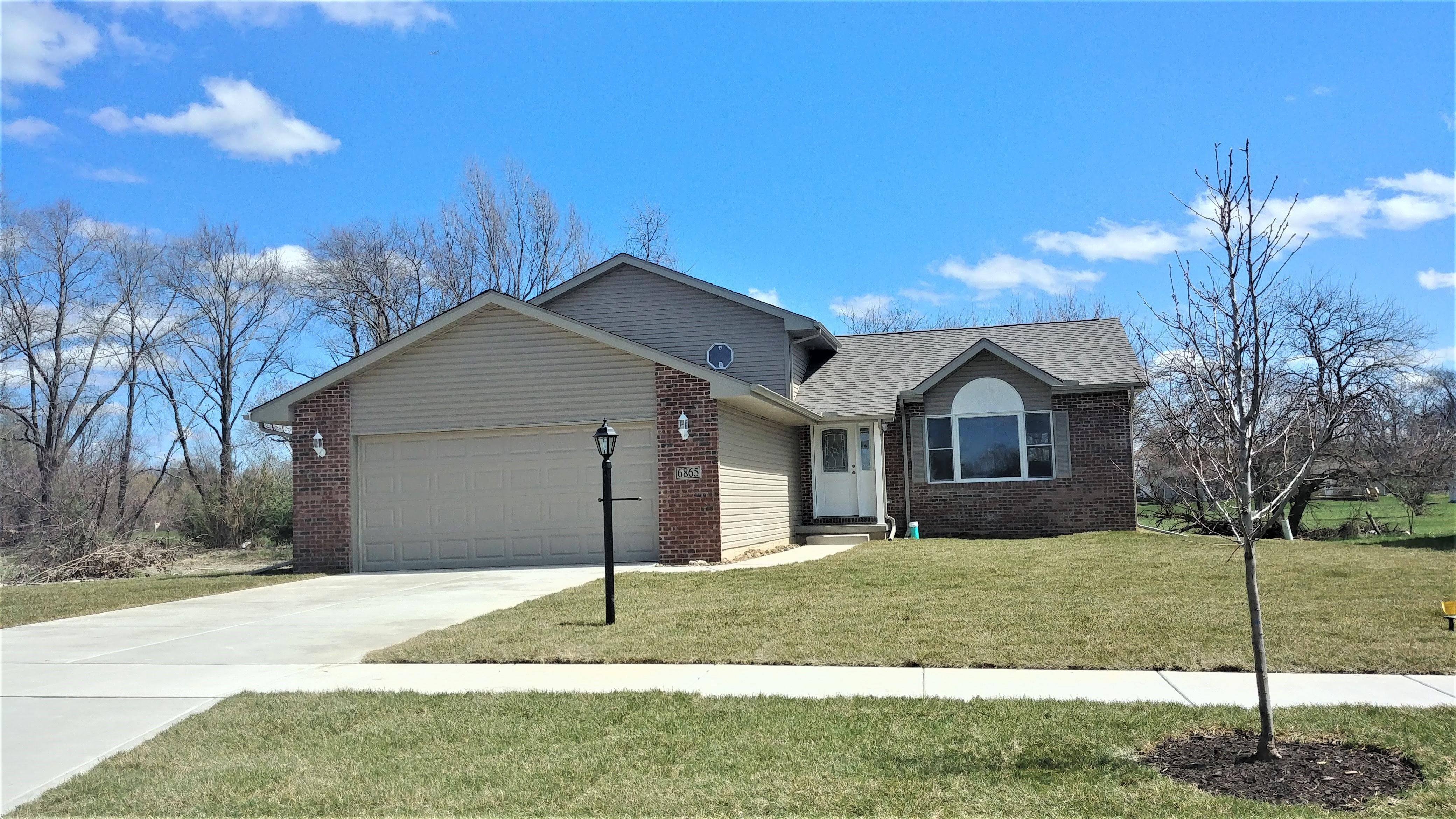 """Exterior featured in the Dakota """"A"""" By Accent Homes Inc. in Gary, IN"""