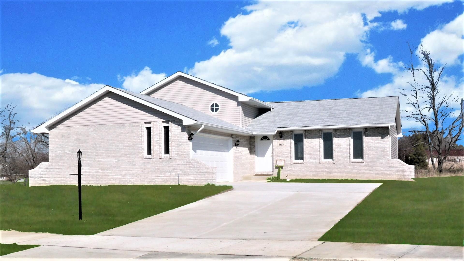 Exterior featured in the Granada III By Accent Homes Inc. in Gary, IN