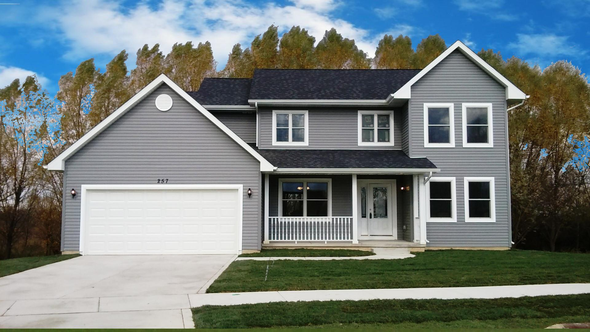 Exterior featured in the Linden By Accent Homes Inc. in Gary, IN