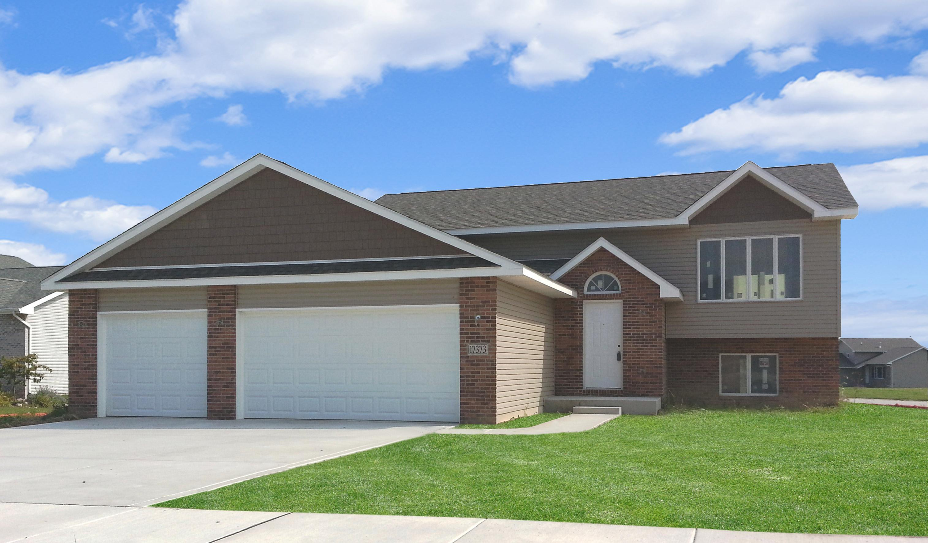 Exterior featured in the Parkwood By Accent Homes Inc. in Gary, IN