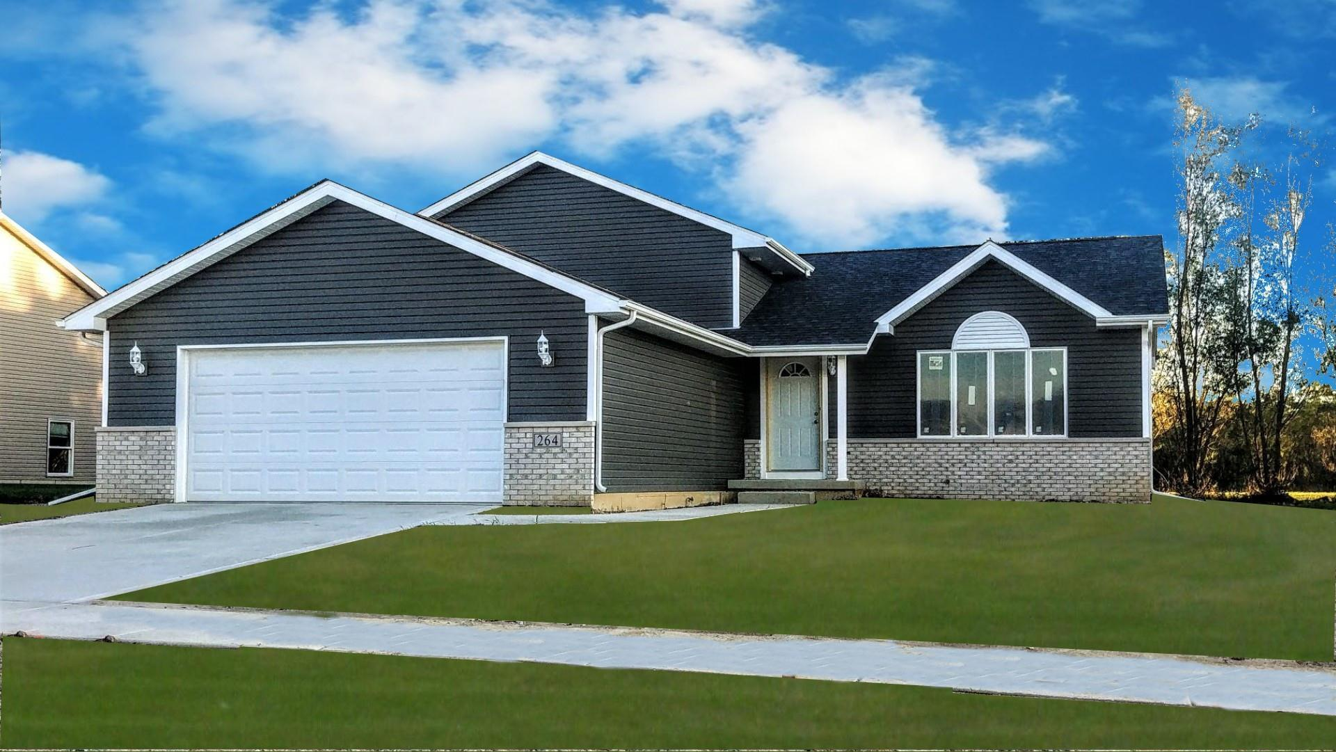 Exterior featured in the Savoy By Accent Homes Inc. in Gary, IN