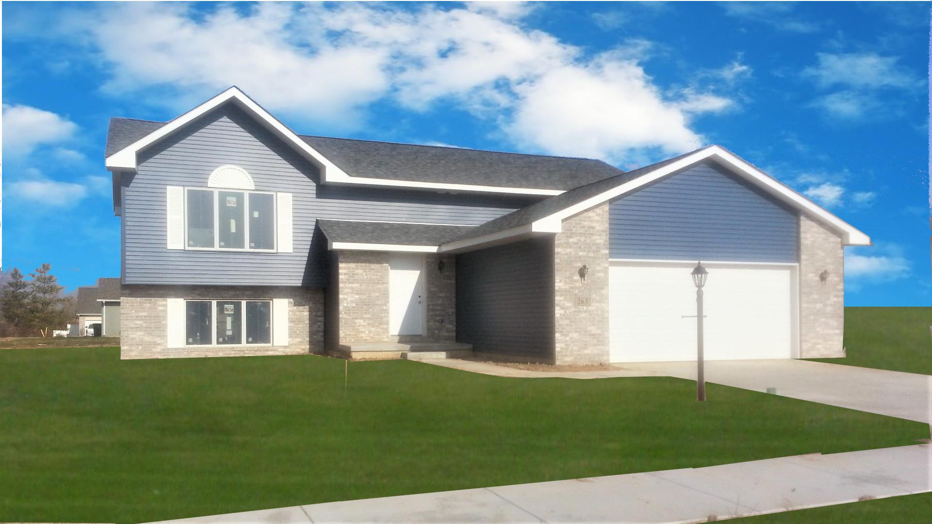 Exterior featured in The Windsor II By Accent Homes Inc. in Gary, IN