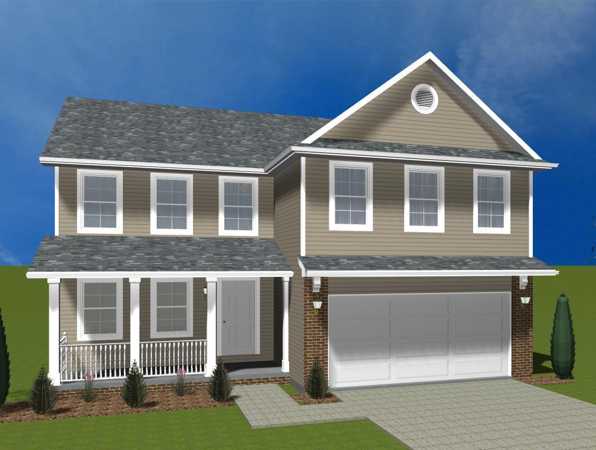 Exterior featured in the Irvington By Accent Homes Inc. in Gary, IN