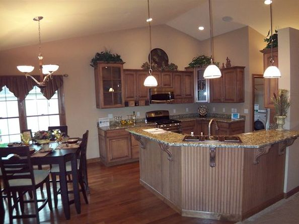 Kitchen featured in the Hayden By Accent Homes Inc. in Gary, IN