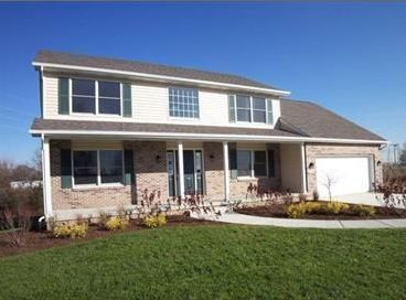 Exterior featured in the Phillips III By Accent Homes Inc. in Gary, IN