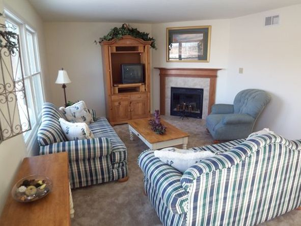 Living Area featured in the Phillips III By Accent Homes Inc. in Gary, IN