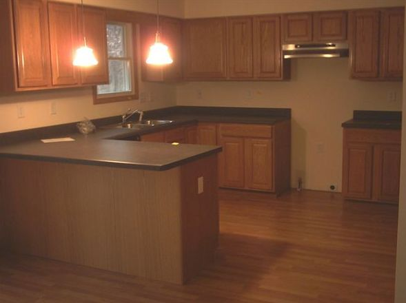 Kitchen featured in the Savoy By Accent Homes Inc. in Gary, IN