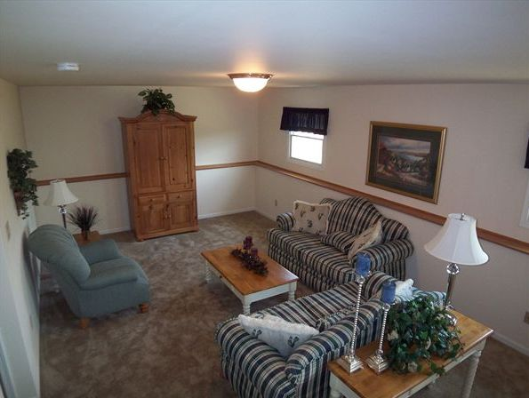 Living Area featured in the Savoy By Accent Homes Inc. in Gary, IN