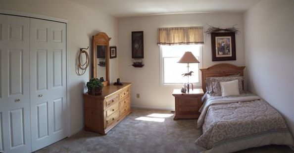Bedroom featured in the Savoy By Accent Homes Inc. in Gary, IN