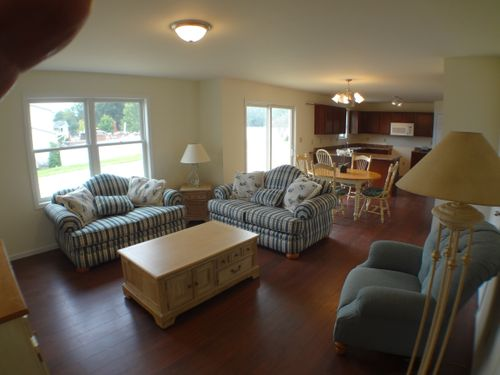 Greatroom-and-Dining-in-The Sierra-at-Monestary Woods-in-Cedar Lake