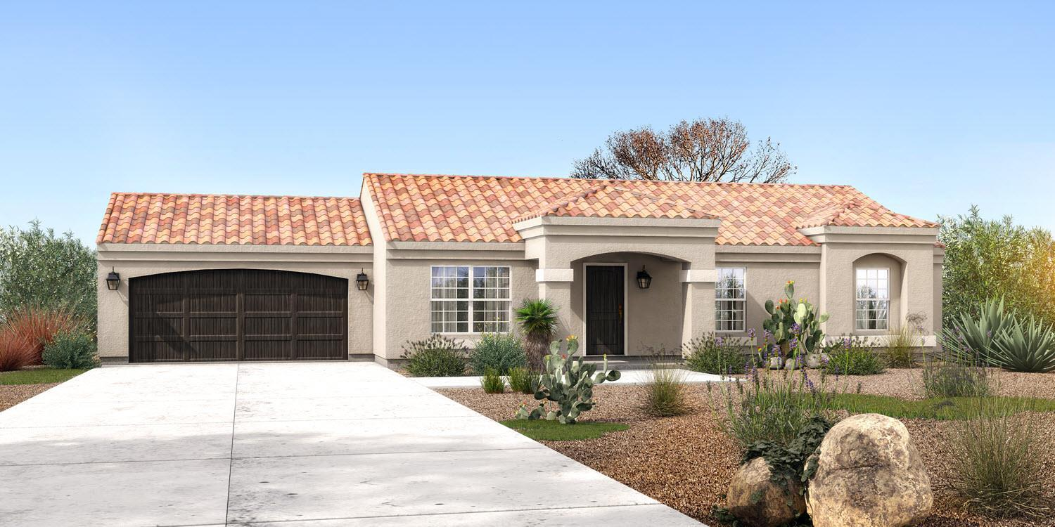 Exterior featured in The Mesa - Build On Your Land By Adair Homes in Phoenix-Mesa, AZ