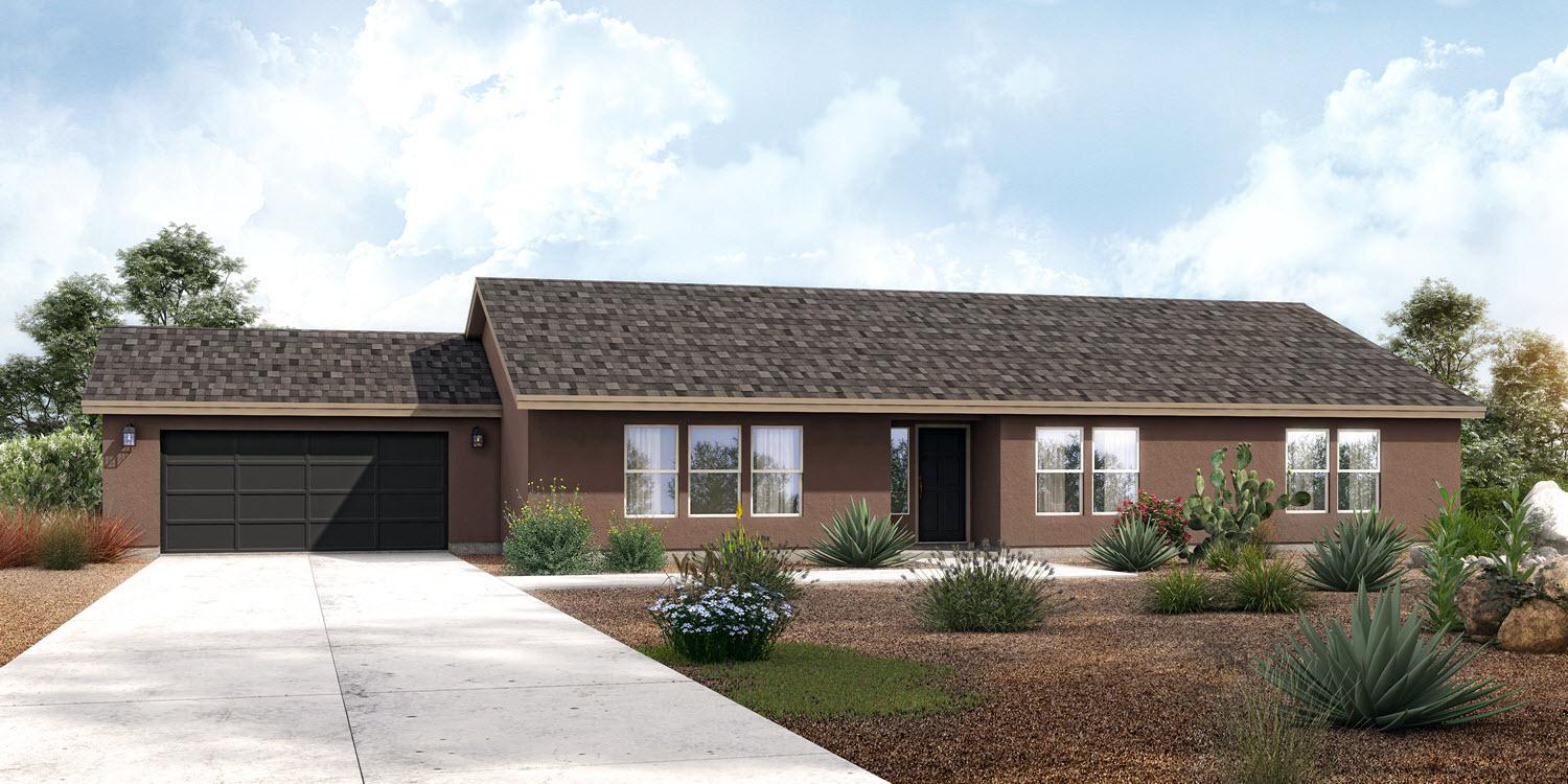 Exterior featured in The Meridian - Build On Your Land By Adair Homes in Phoenix-Mesa, AZ