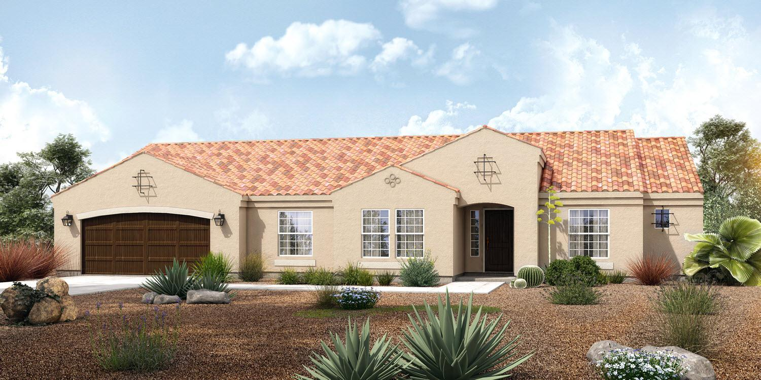 Exterior featured in The Dillon - Build On Your Land By Adair Homes in Phoenix-Mesa, AZ