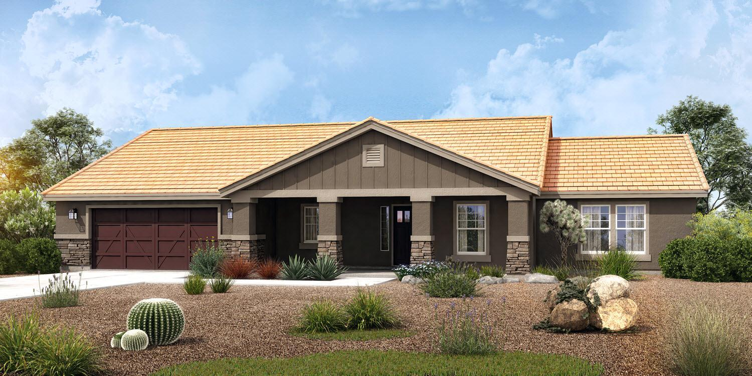 Exterior featured in The Parker - Build On Your Land By Adair Homes in Phoenix-Mesa, AZ