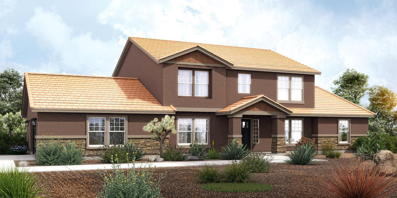 Exterior featured in The Cheyenne - Build On Your Land By Adair Homes in Phoenix-Mesa, AZ