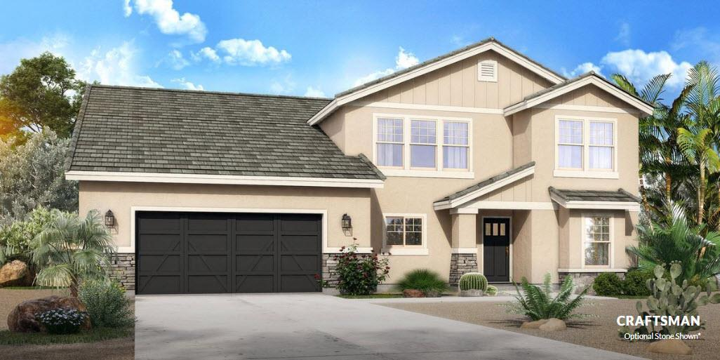 Exterior featured in The Humboldt - Build On Your Land By Adair Homes in Phoenix-Mesa, AZ