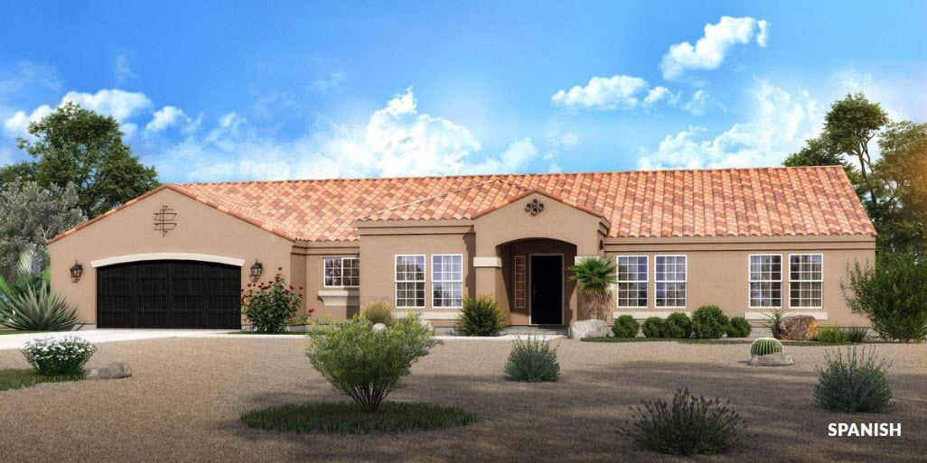 Exterior featured in The Amherst - Build On Your Land By Adair Homes in Phoenix-Mesa, AZ