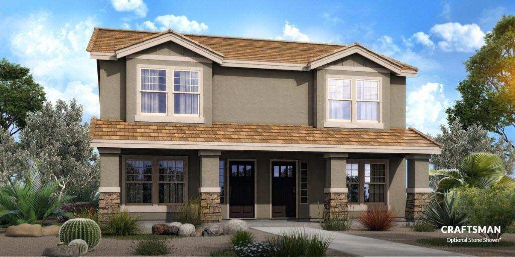 Exterior featured in The Arvada - Build On Your Land By Adair Homes in Phoenix-Mesa, AZ