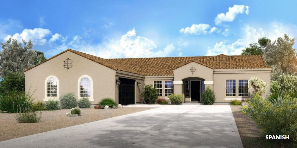 Exterior featured in The Bailey - Build On Your Land By Adair Homes in Phoenix-Mesa, AZ