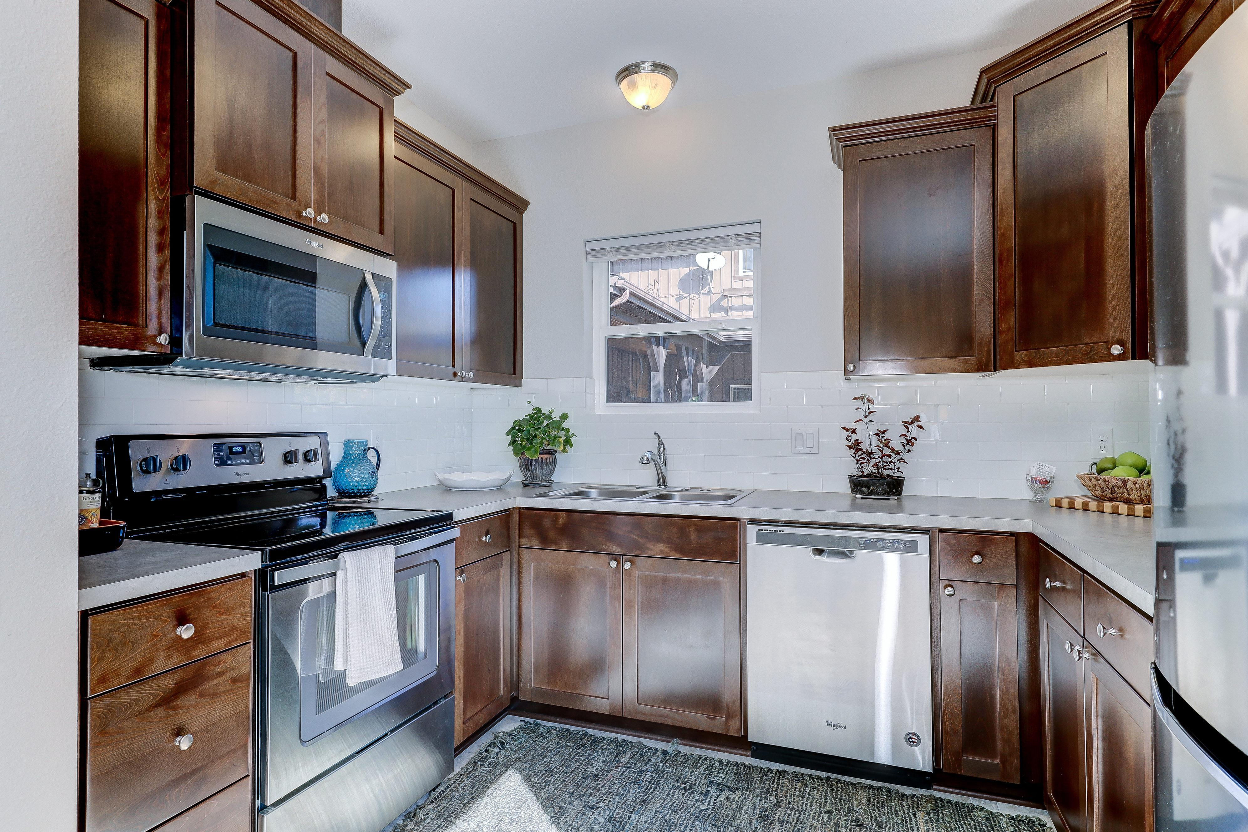 Kitchen featured in The Cottonwood - Build On Your Land By Adair Homes in Medford-Ashland, OR